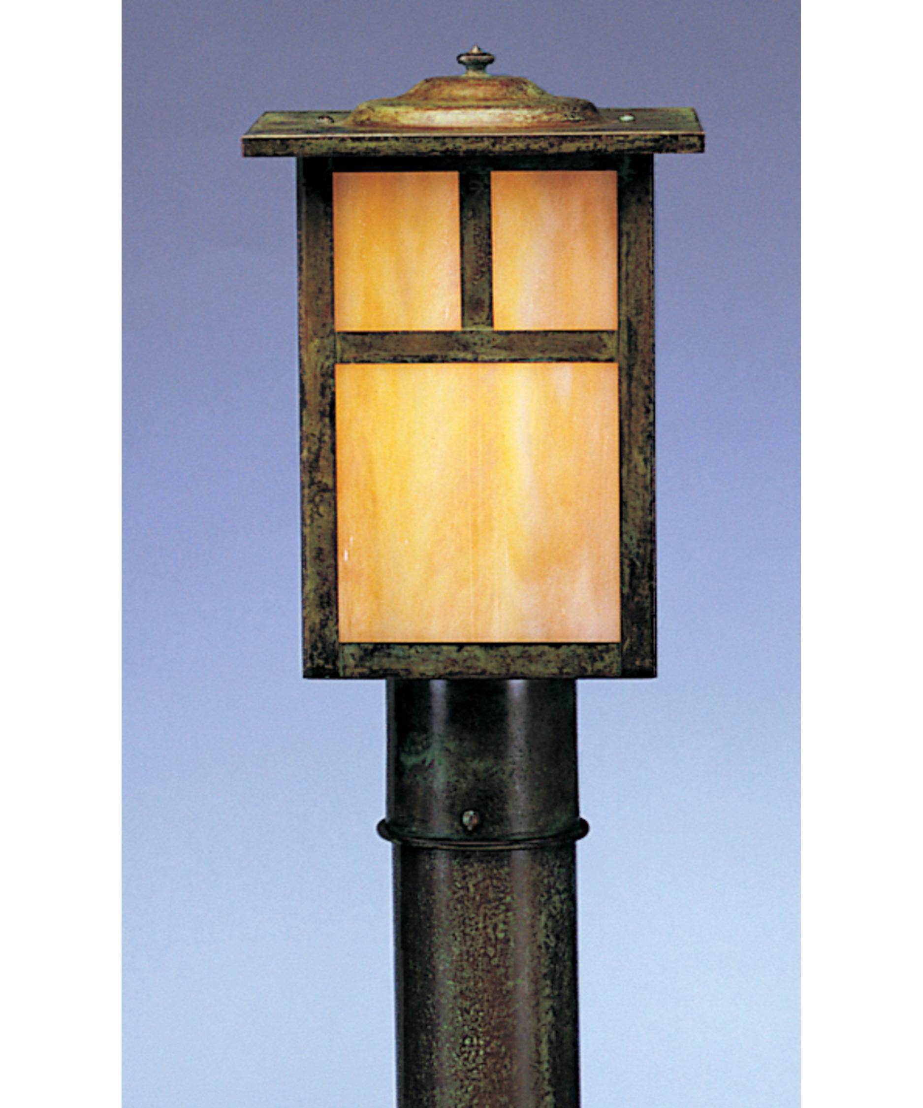Shown In Verdigris Patina Finish Gold White Iridescent Glass And T Bar Overlay Accent