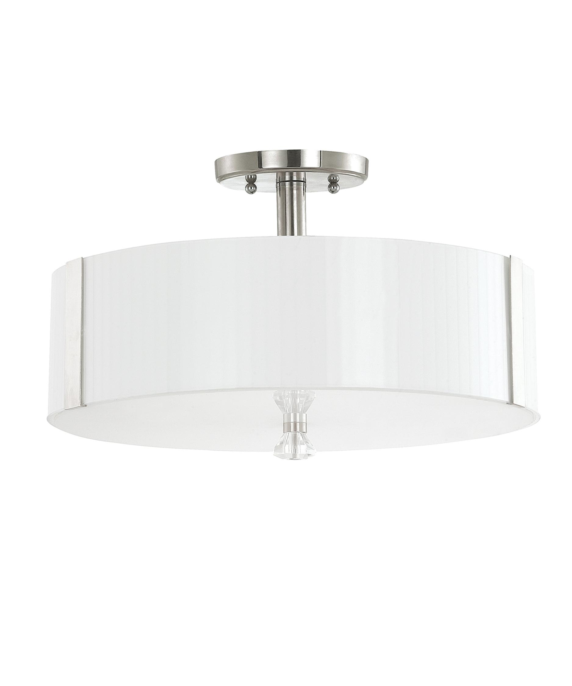 capital lighting alisa 16 inch wide semi flush mount capitol lighting - Capital Lighting