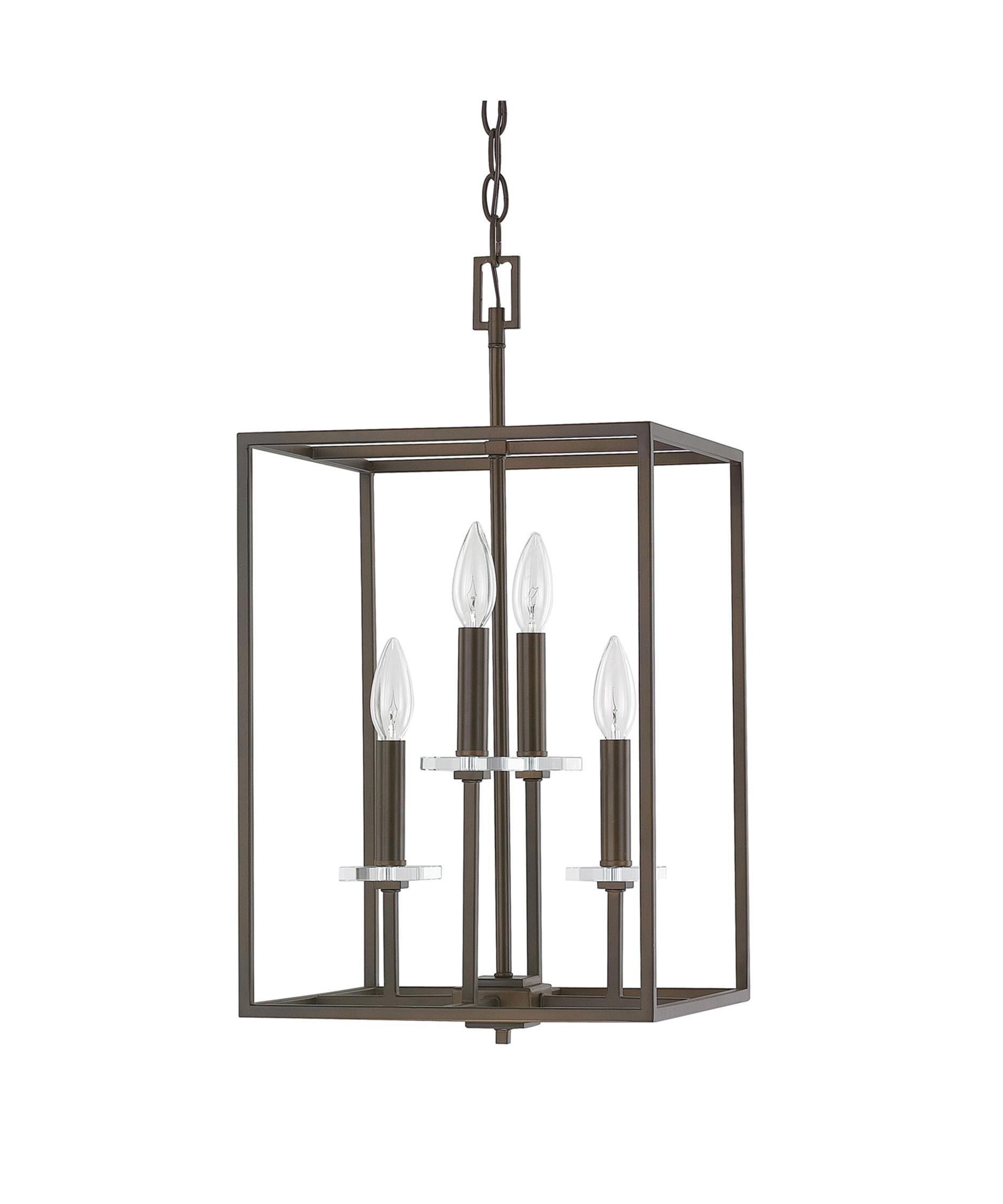 shown in burnished bronze finish and k9 crystal - Capital Lighting