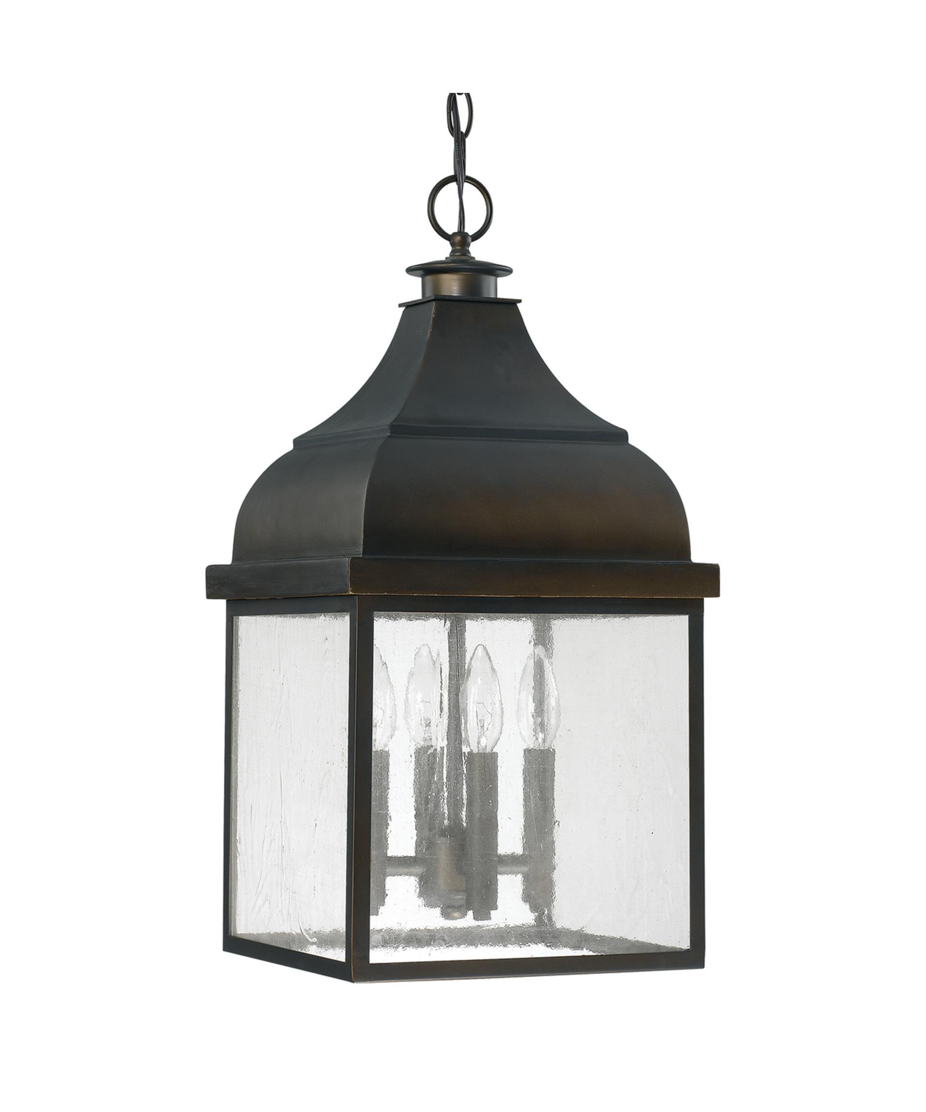 capital lighting westridge 11 inch wide 4 light outdoor hanging lantern capitol lighting - Capital Lighting