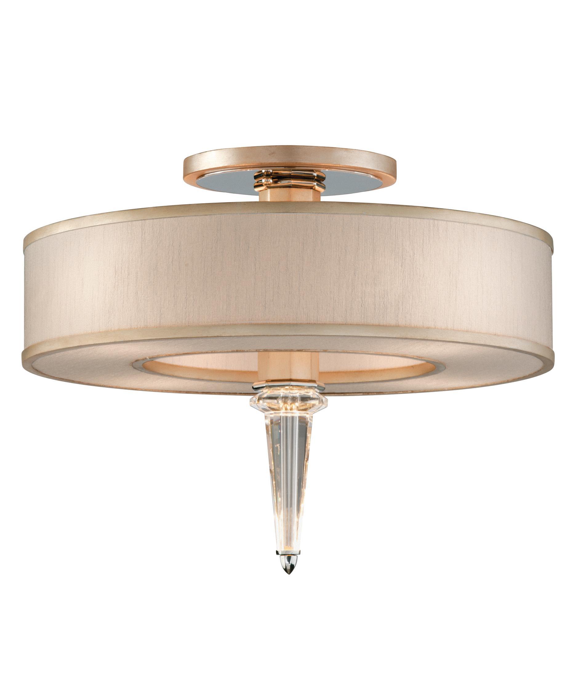 Corbett Lighting 166 34 Harlow 20 Inch Semi Flush Mount