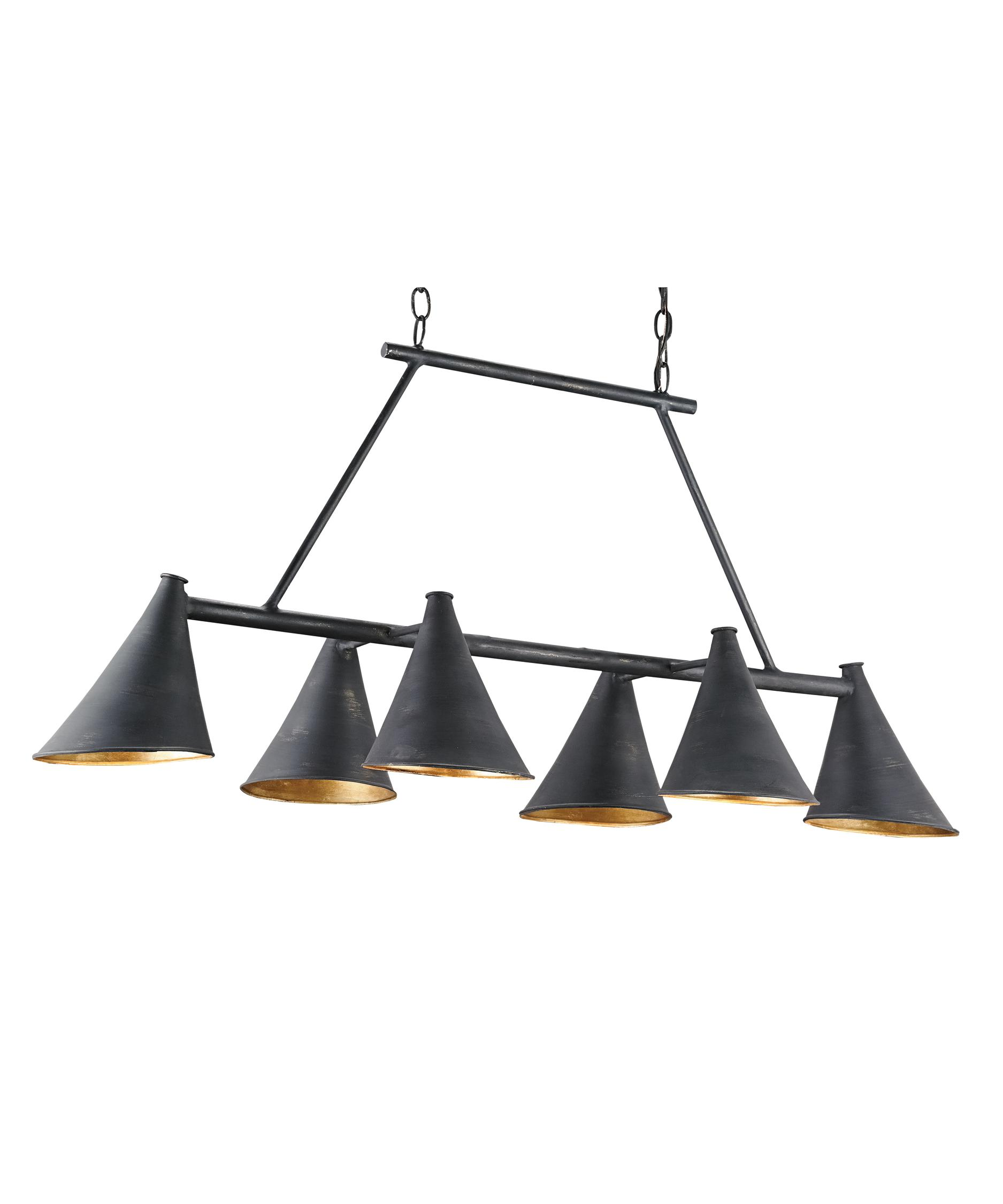 currey and company lighting fixtures. shown in french blackcontemporary gold leaf finish currey and company lighting fixtures