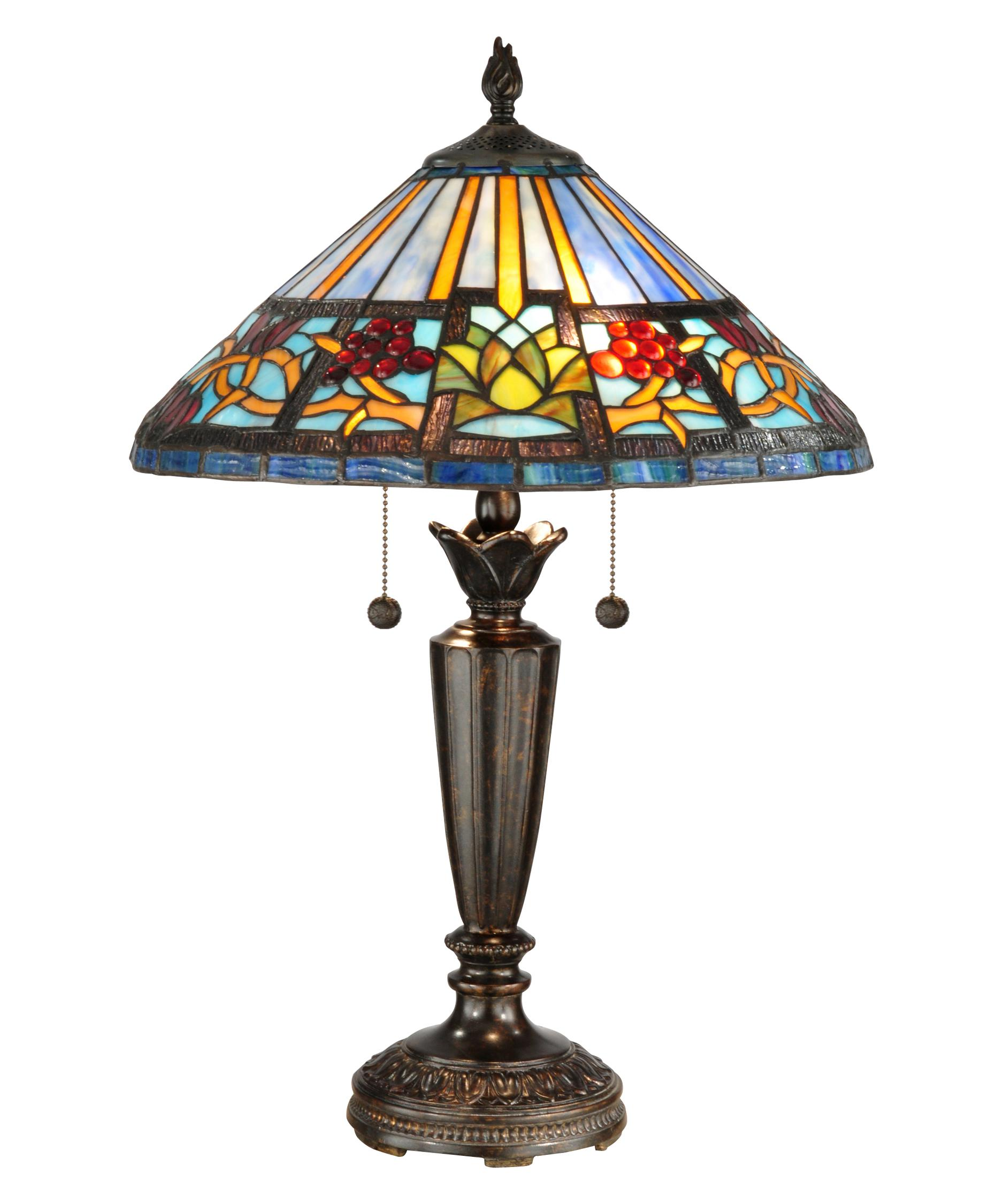dale tiffany tt12369 barranca 24 inch table lamp capitol lighting 1. Black Bedroom Furniture Sets. Home Design Ideas