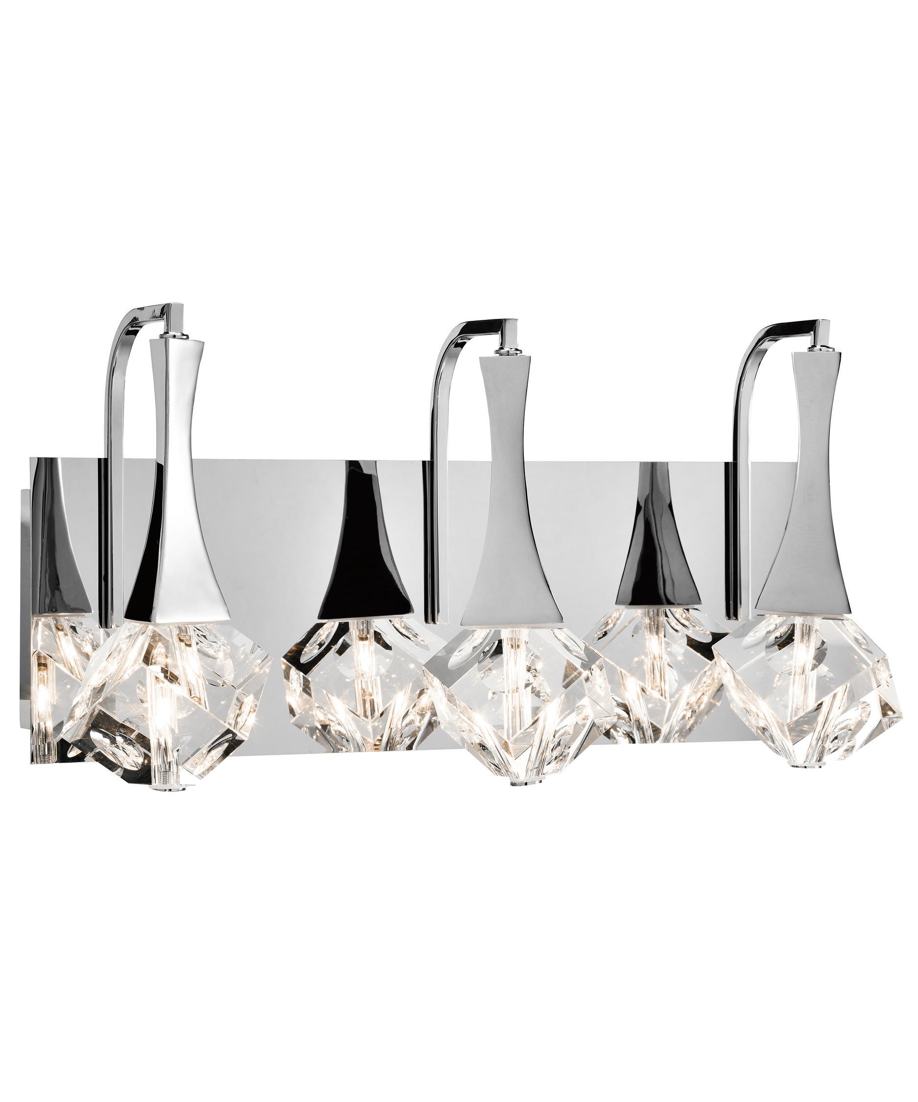 Bathroom Vanity Lighting Crystal elan 83136 rockne 18 inch wide bath vanity light | capitol