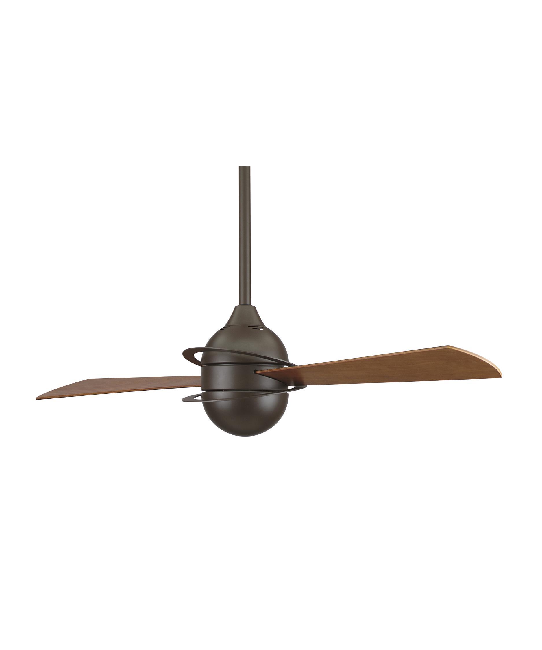 fanimation fp involution  inch  blade ceiling fan  - shown in oil rubbed bronze finish