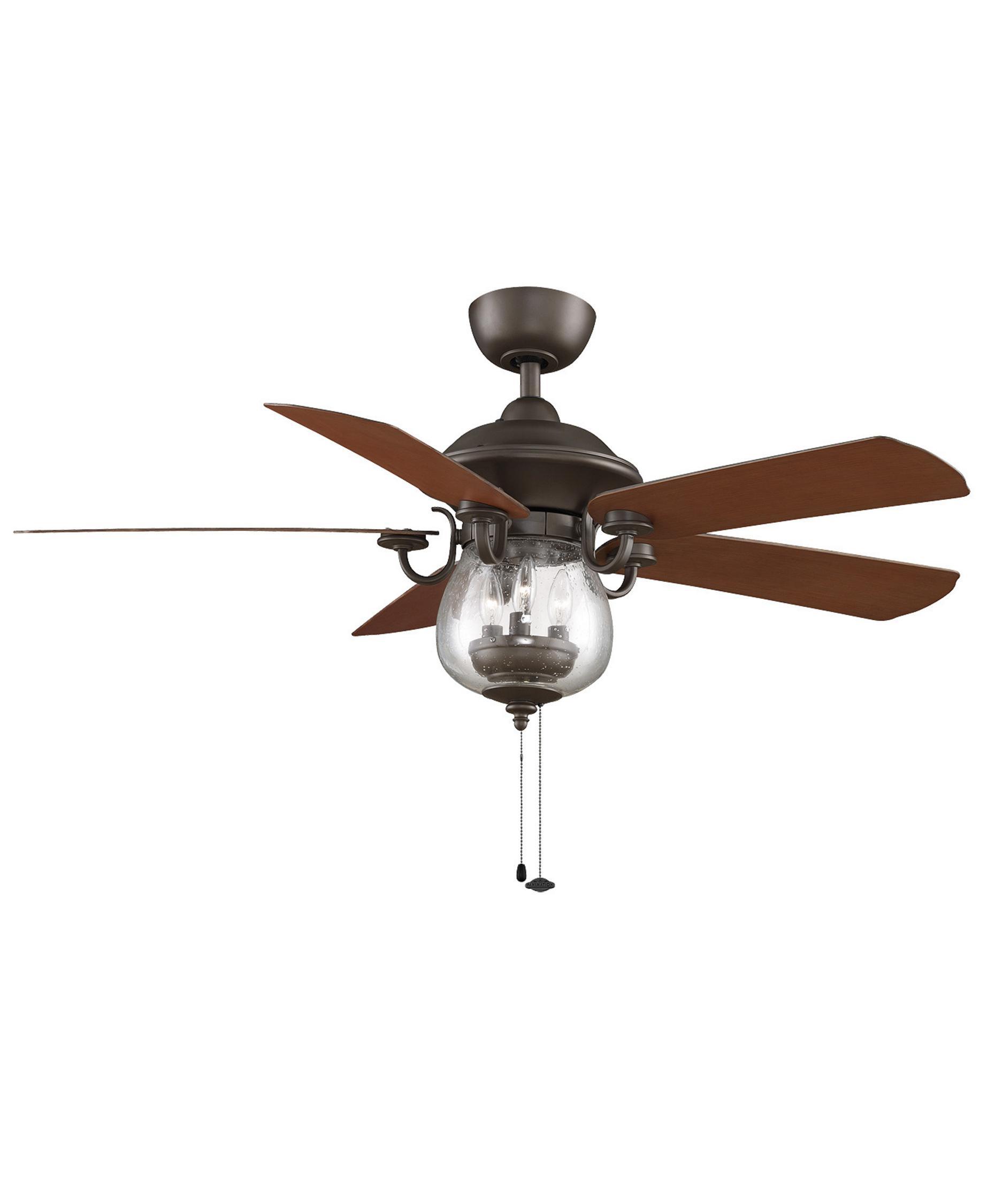 fanimation fp7954 crestford 52 inch 5 blade ceiling fan | capitol