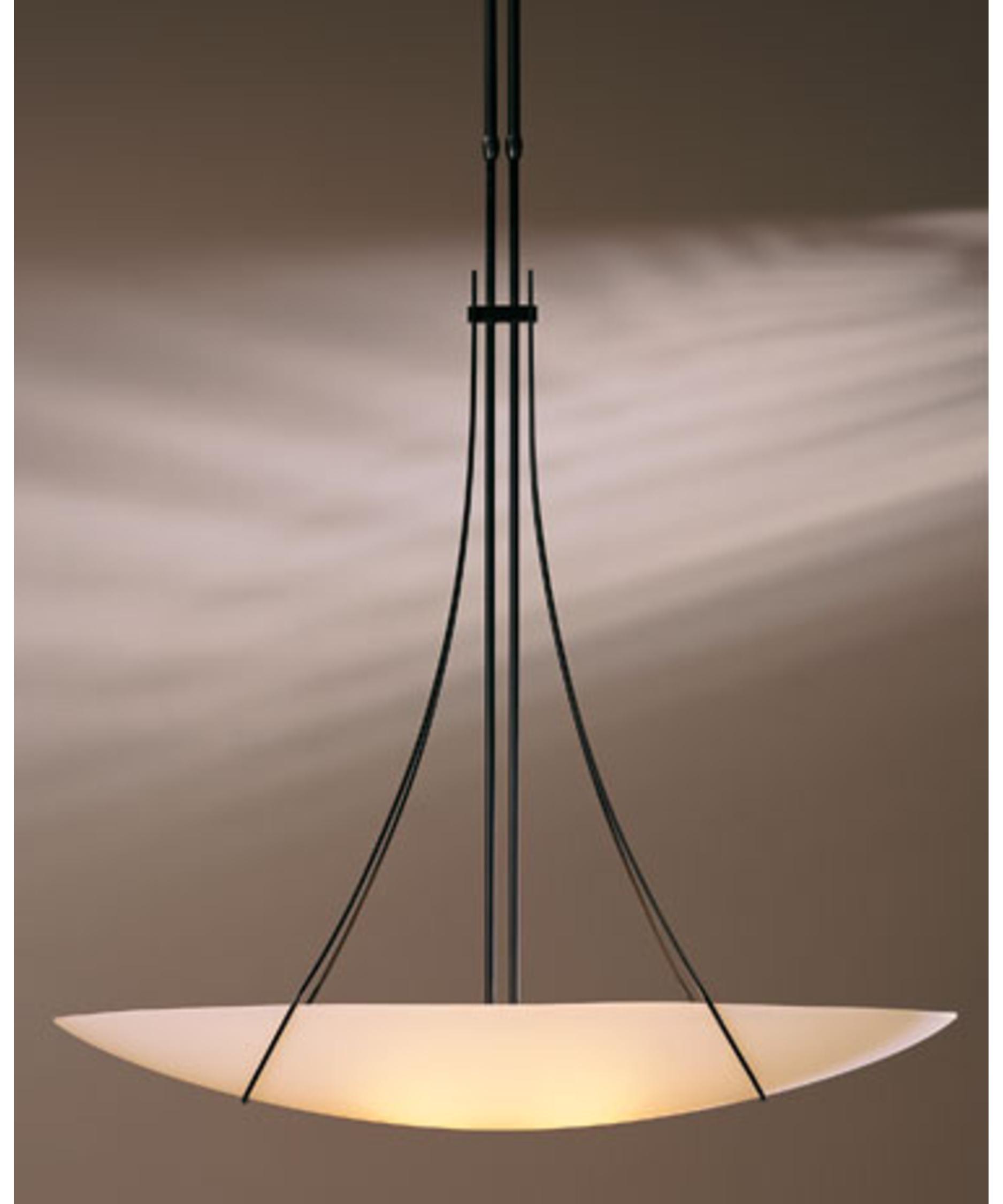 hubbardton forge draped loop 38 inch wide 2 light large pendant capitol lighting - Hubbardton Forge