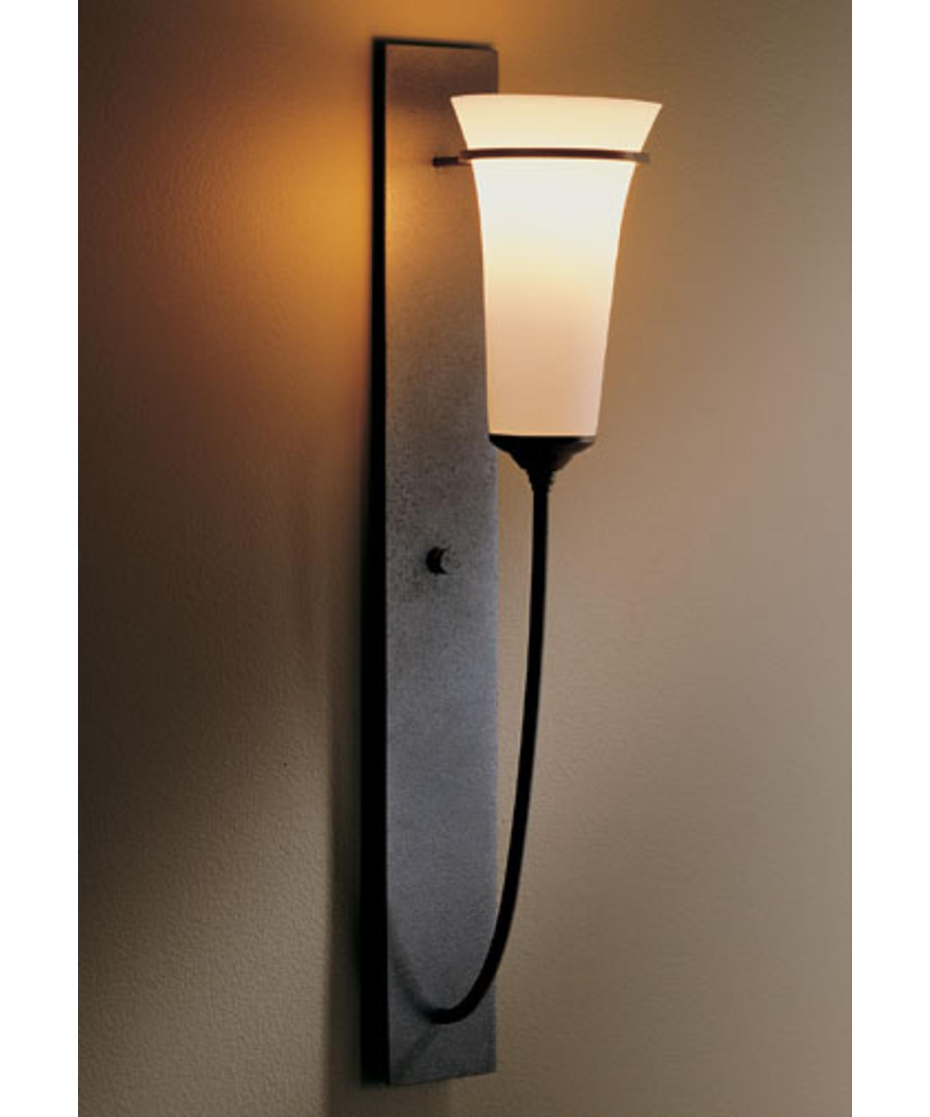 hubbardton forge banded 4 inch wide wall sconce capitol lighting - Hubbardton Forge