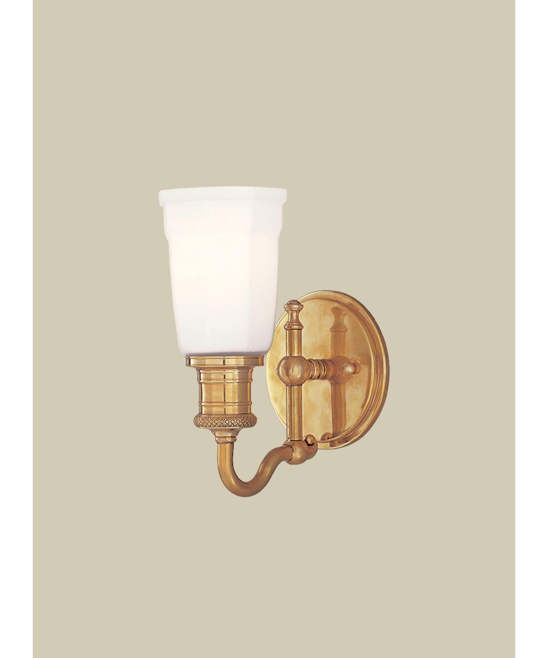 Hudson Valley Lighting Bradford: Hudson Valley 2501 Bradford 5 Inch Wall Sconce