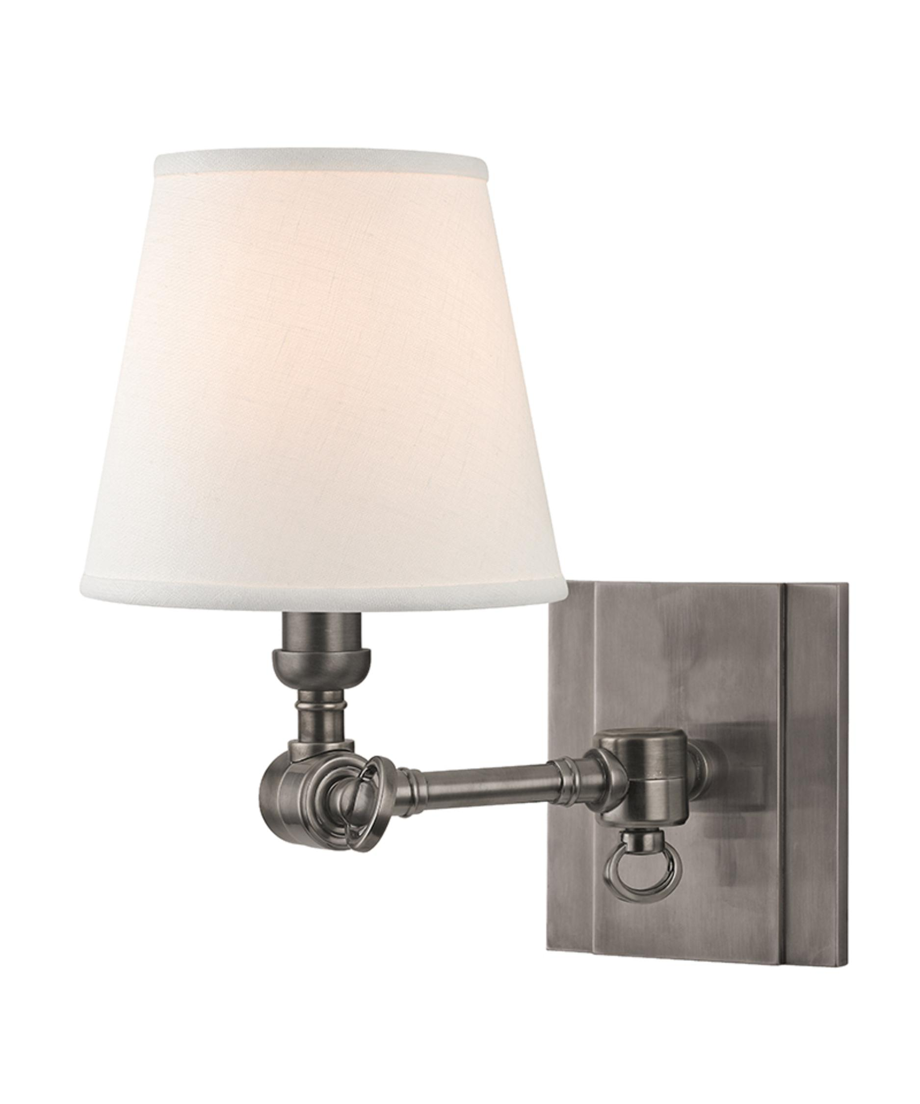Bathroom Lighting Fixtures Brass hudson valley 6231 hillsdale 6 inch wide wall sconce | capitol