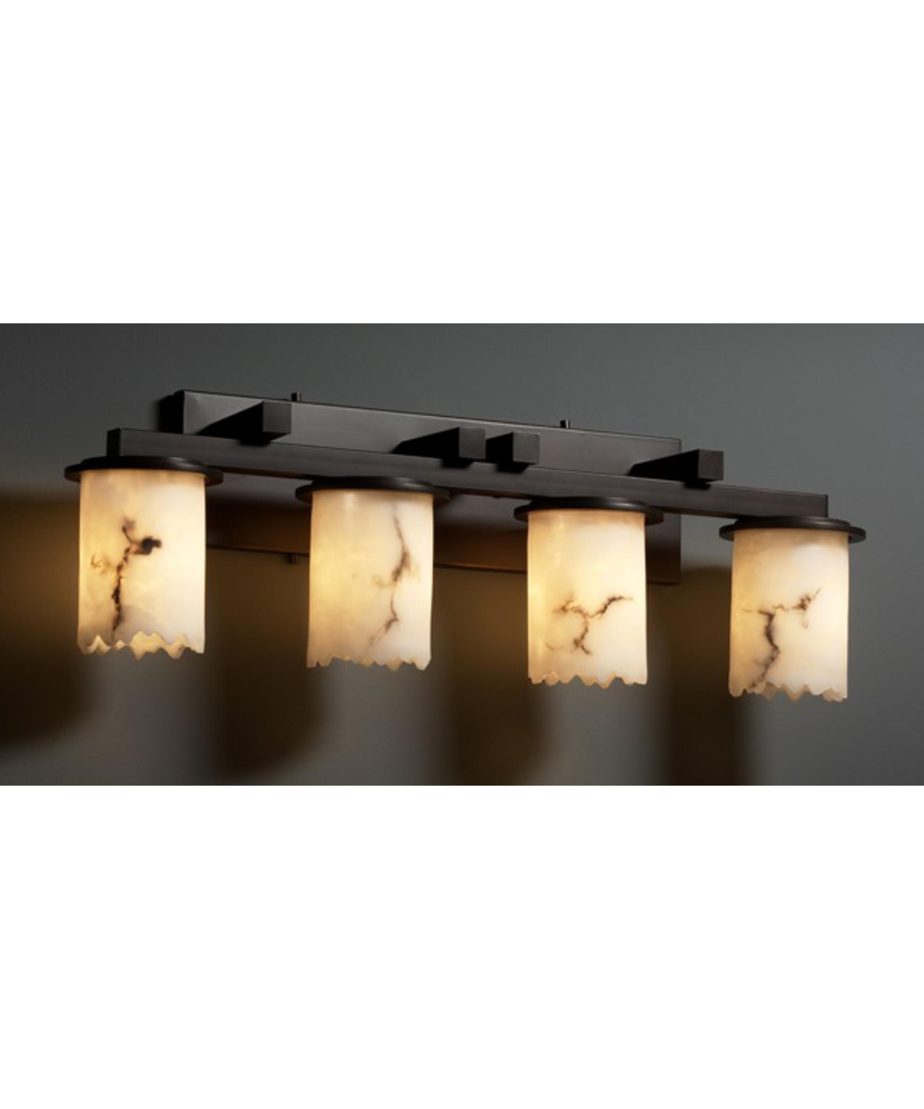 Justice Design Group LumenAria Dakota 29 Inch Bath Vanity Light