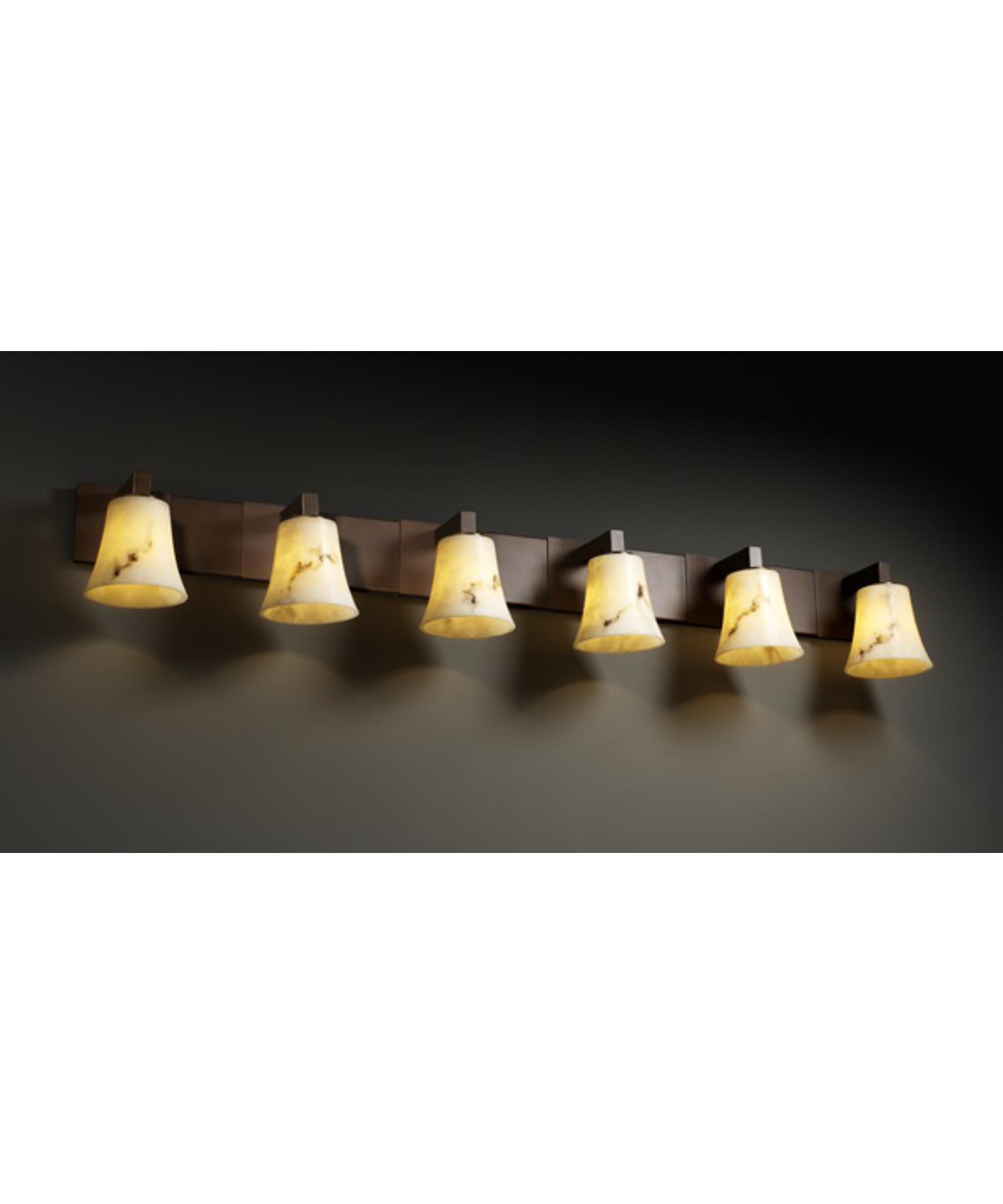 Justice design group lumenaria modular 56 inch bath vanity light capitol lighting 1 - Justice design group bathroom lighting ...