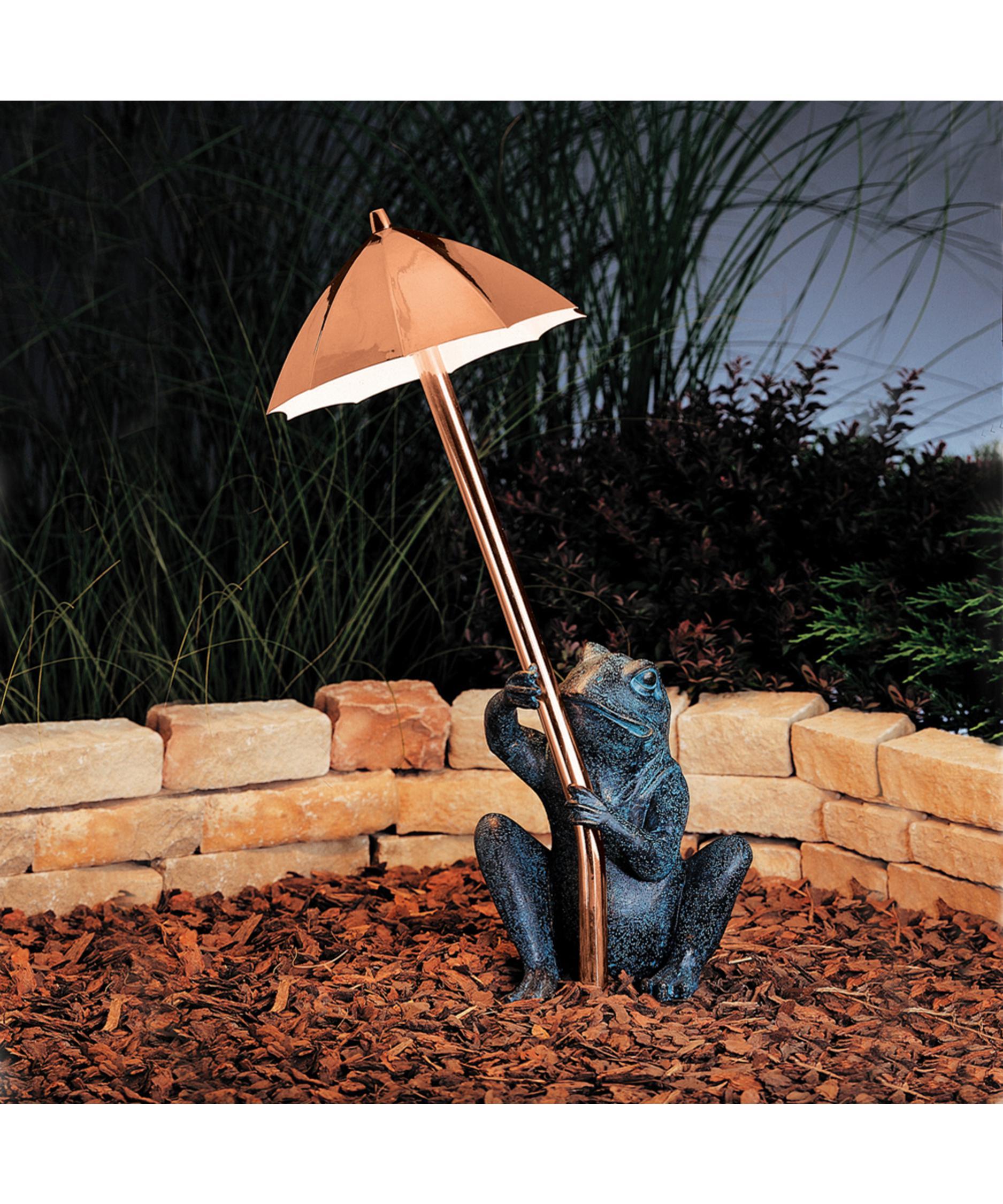 Kichler 15307 Frog And Umbrella 1 Light Pathway Light | Capitol Lighting  1 800lighting.com