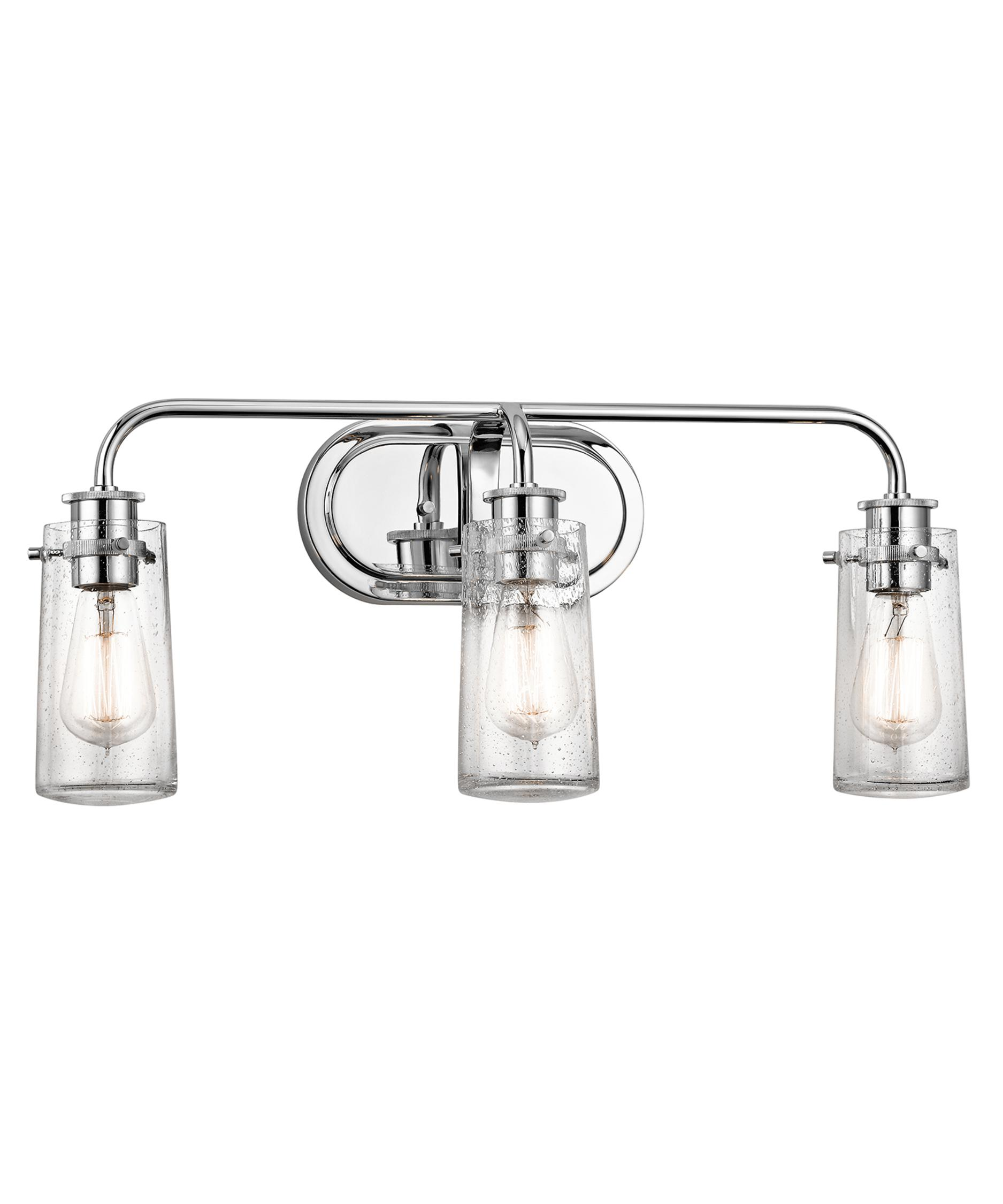 Bathroom Vanity Lights Kichler kichler 45459 braelyn 24 inch wide bath vanity light | capitol
