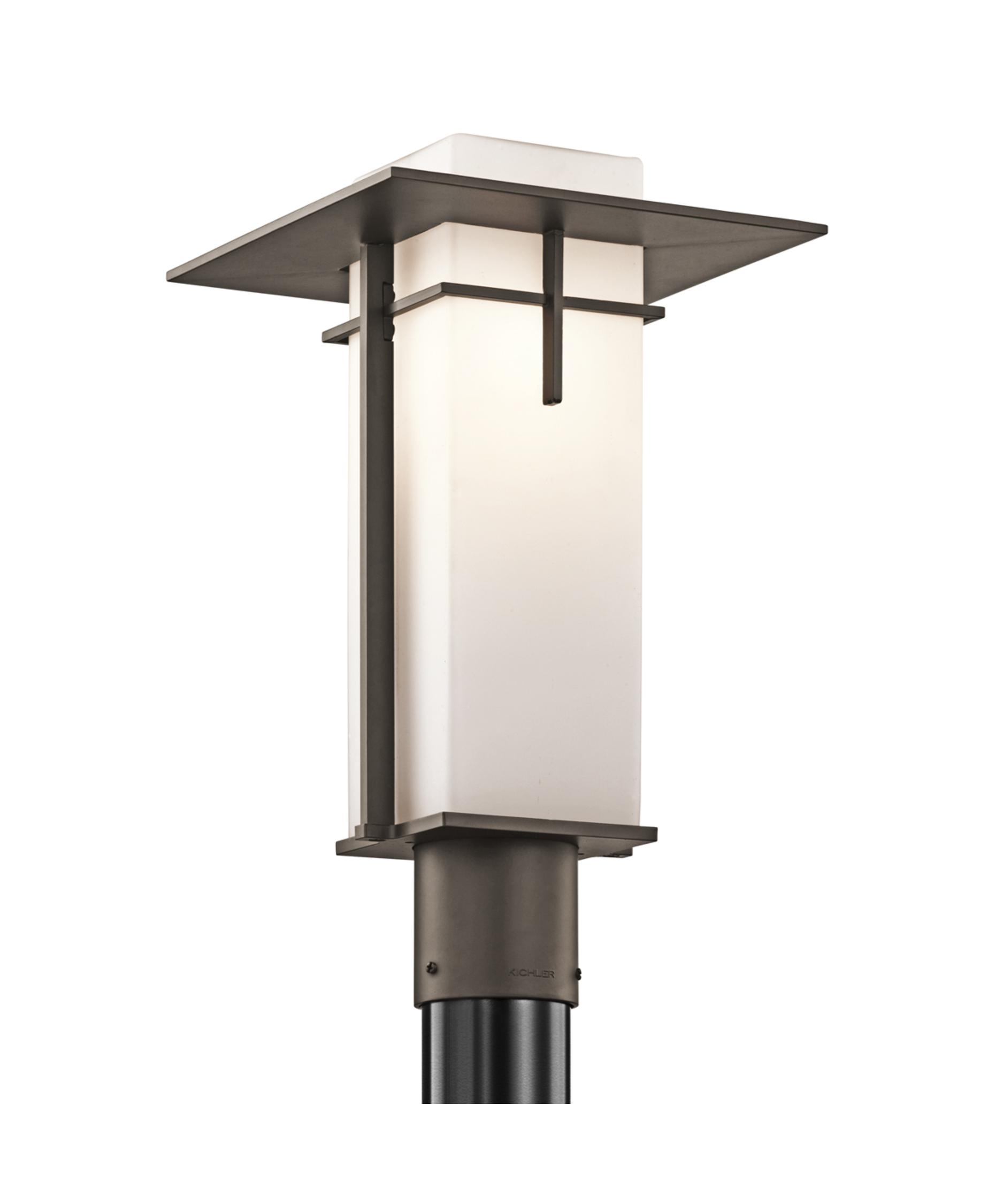 Kichler 49646 Caterham 10 Inch Wide 1 Light Outdoor Post Lamp ...