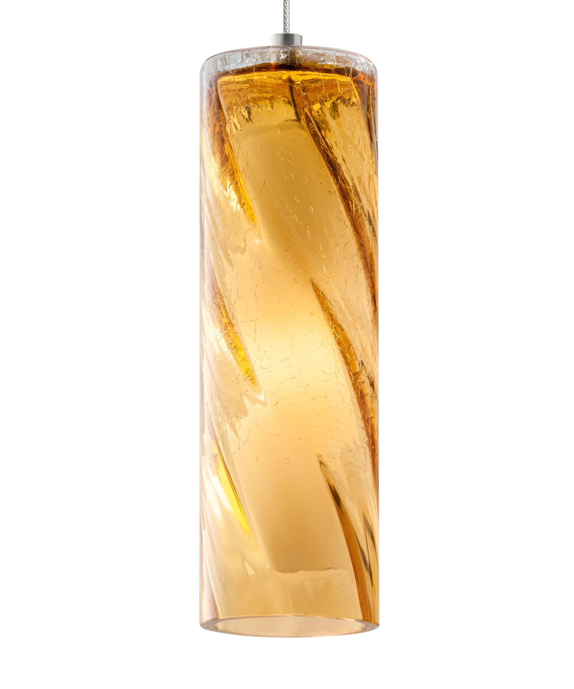 shown with light amber glass amber pendant lighting
