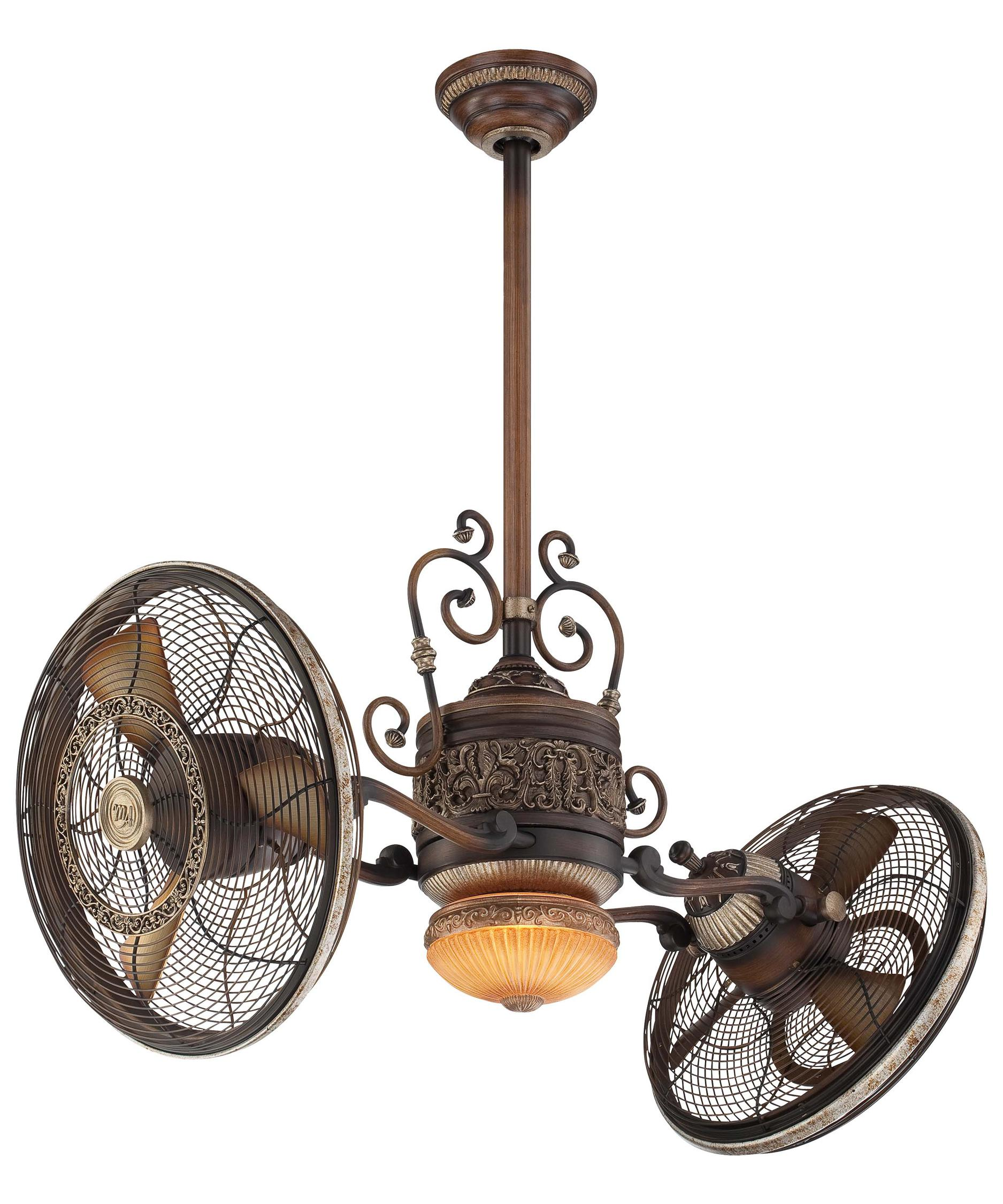 Double Ceiling Fan With Light | www.galleryhip.com - The Hippest Pics