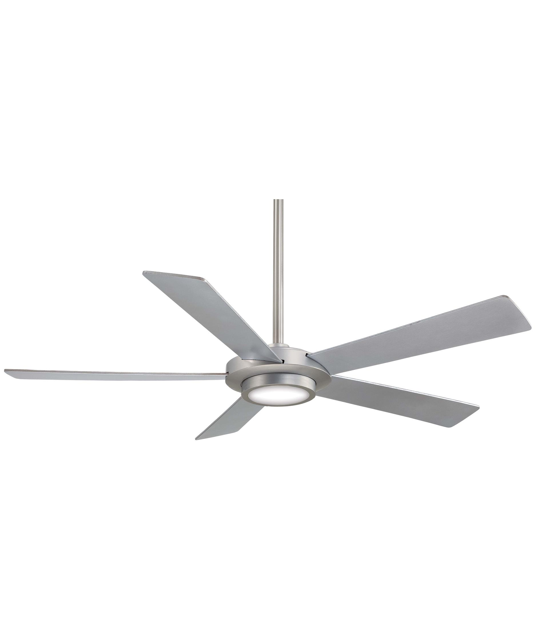 Awesome 52 Inch Fan Part - 11: Shown In Brushed Nickel Finish