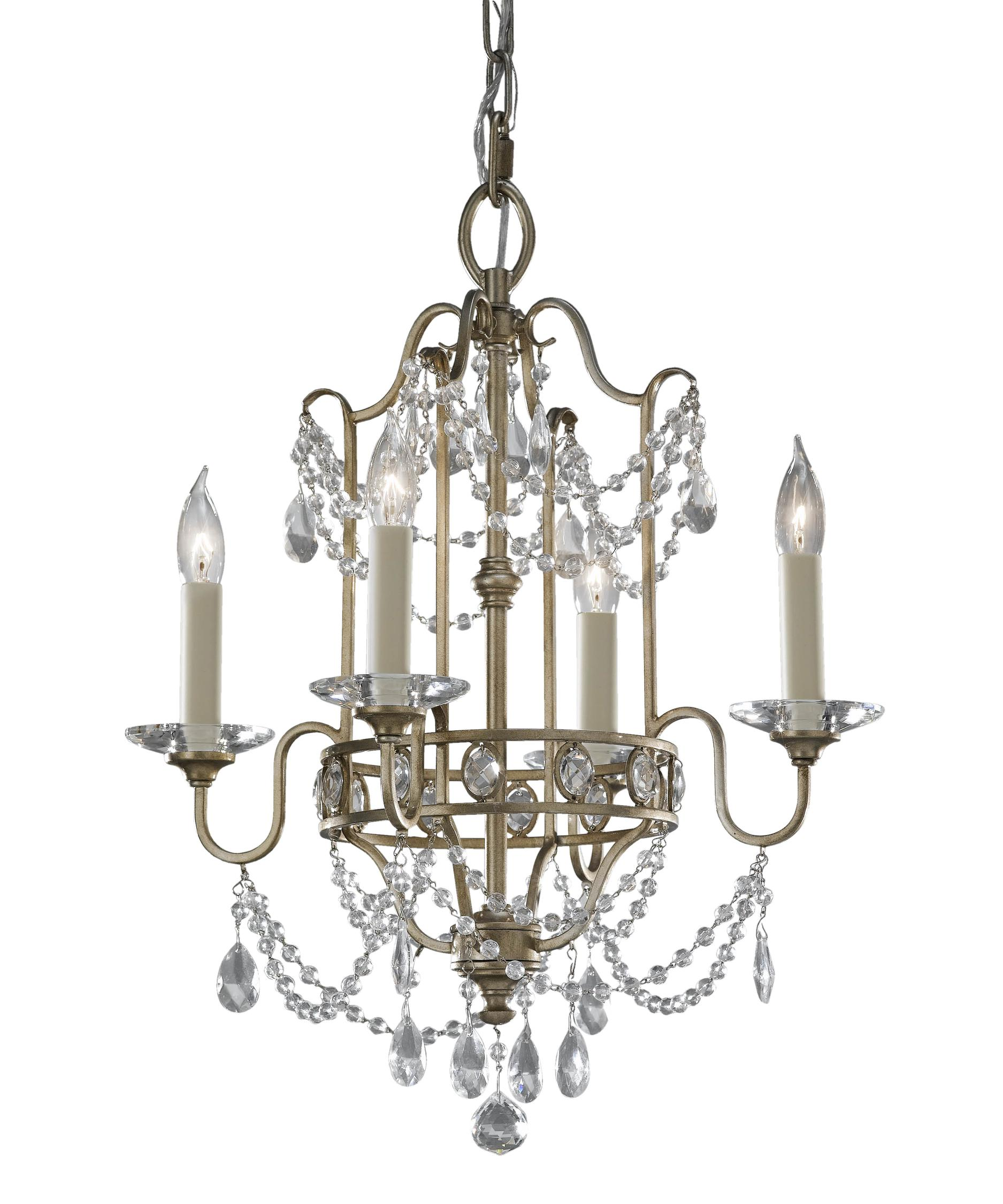 Murray Feiss Gianna 16 Inch Wide 4 Light Mini Chandelier – Murray Feiss Chandeliers