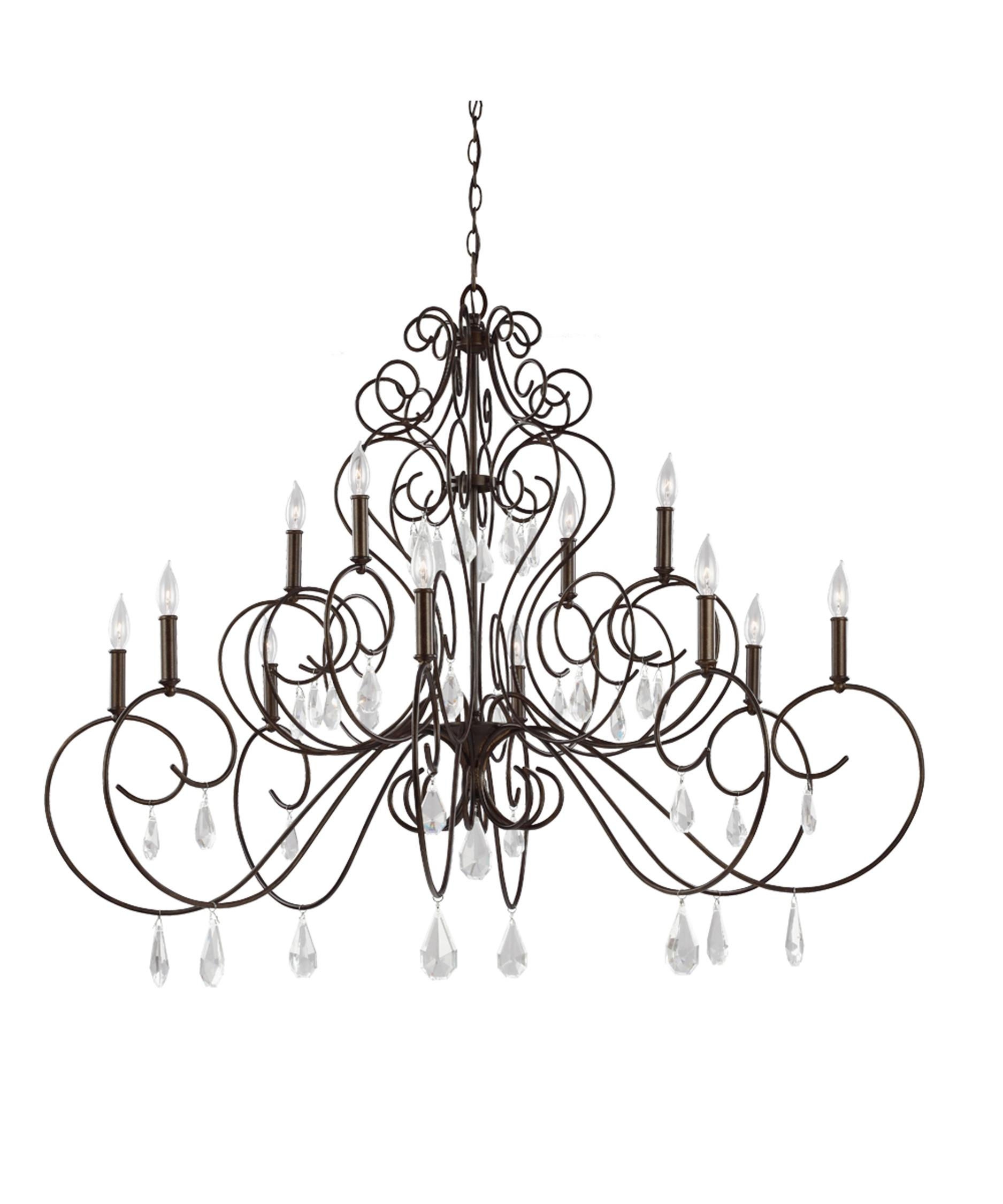 Murray Feiss Angelette 50 Inch Wide 12 Light Chandelier – Murray Feiss Chandeliers