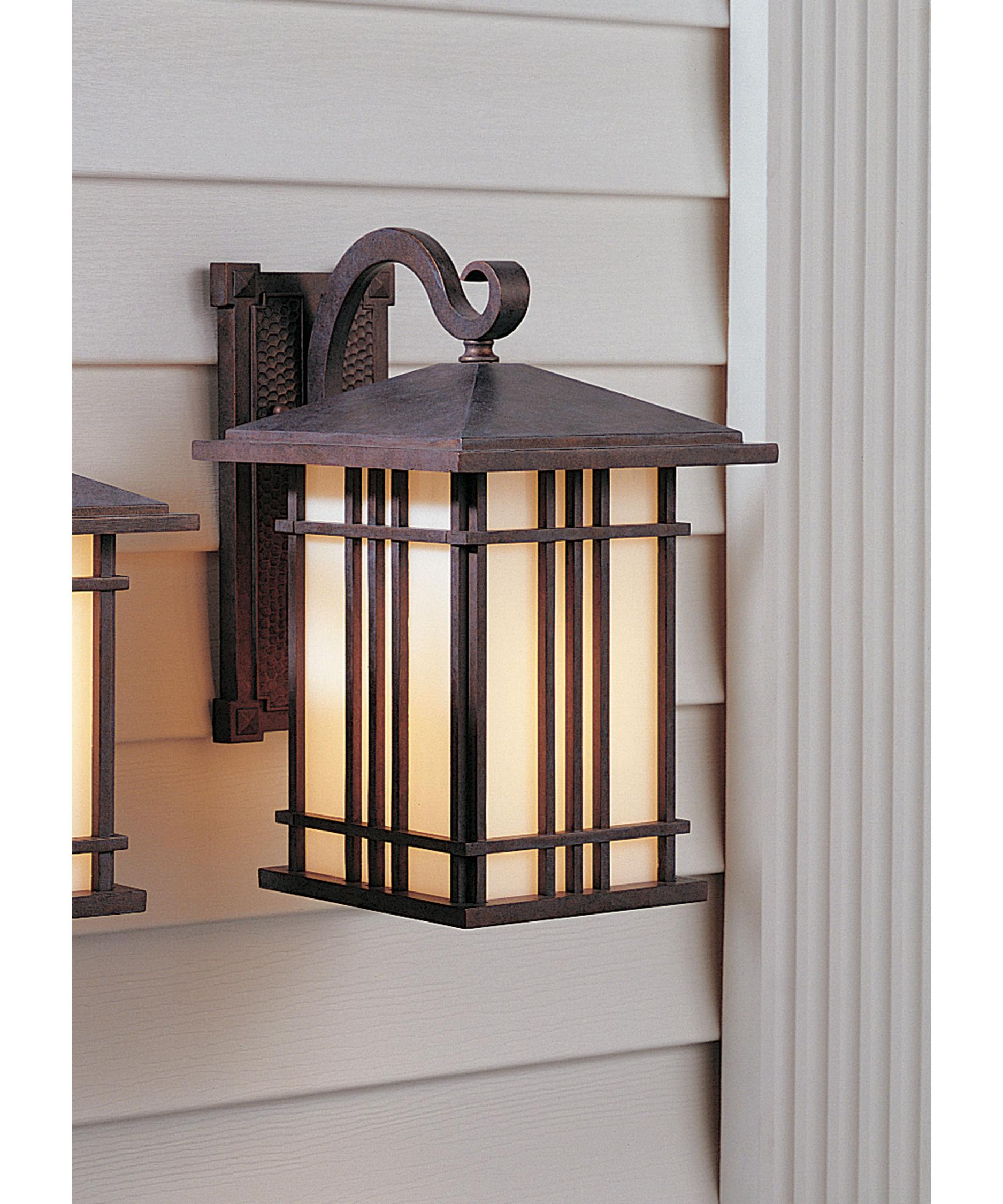 Murray Feiss Outdoor Lighting: Murray Feiss OL1801 Prairie House 1 Light Outdoor Wall
