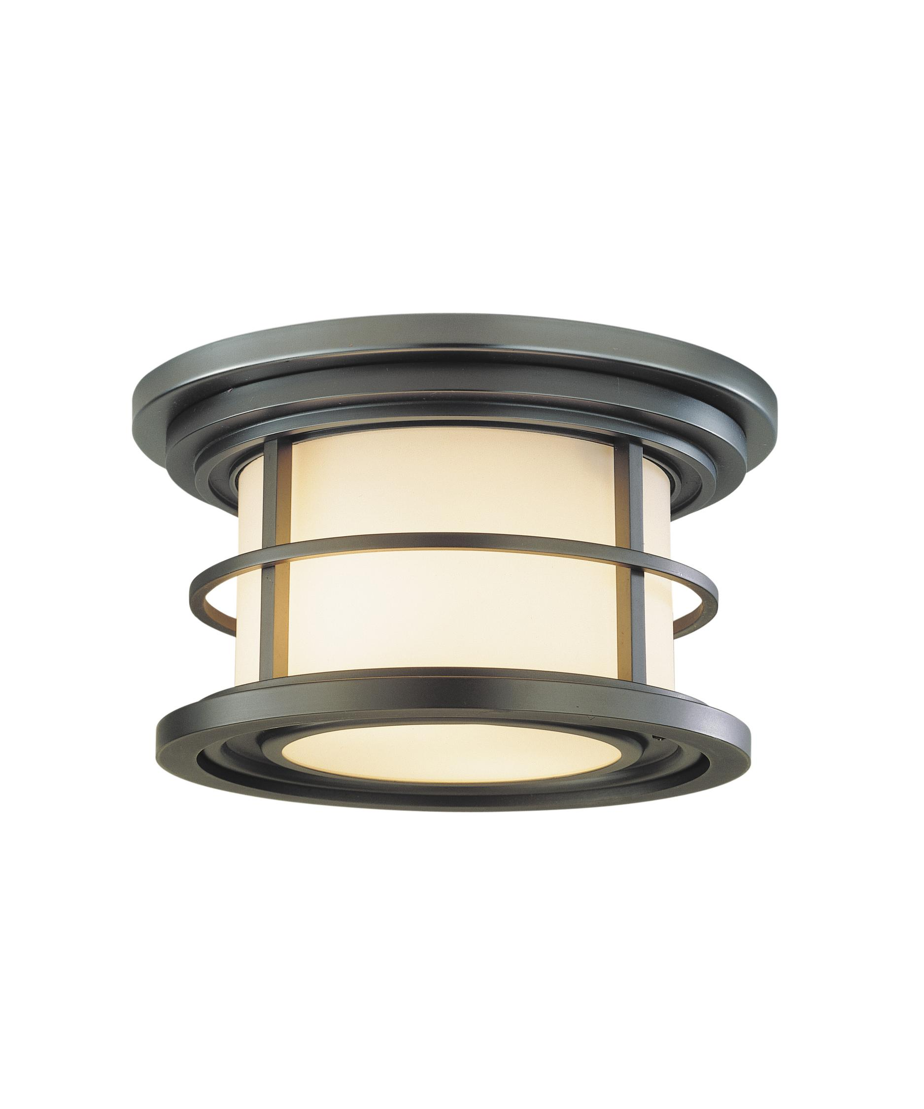 Ceiling Mount Outdoor Light Part - 46: Shown In Burnished Bronze Finish