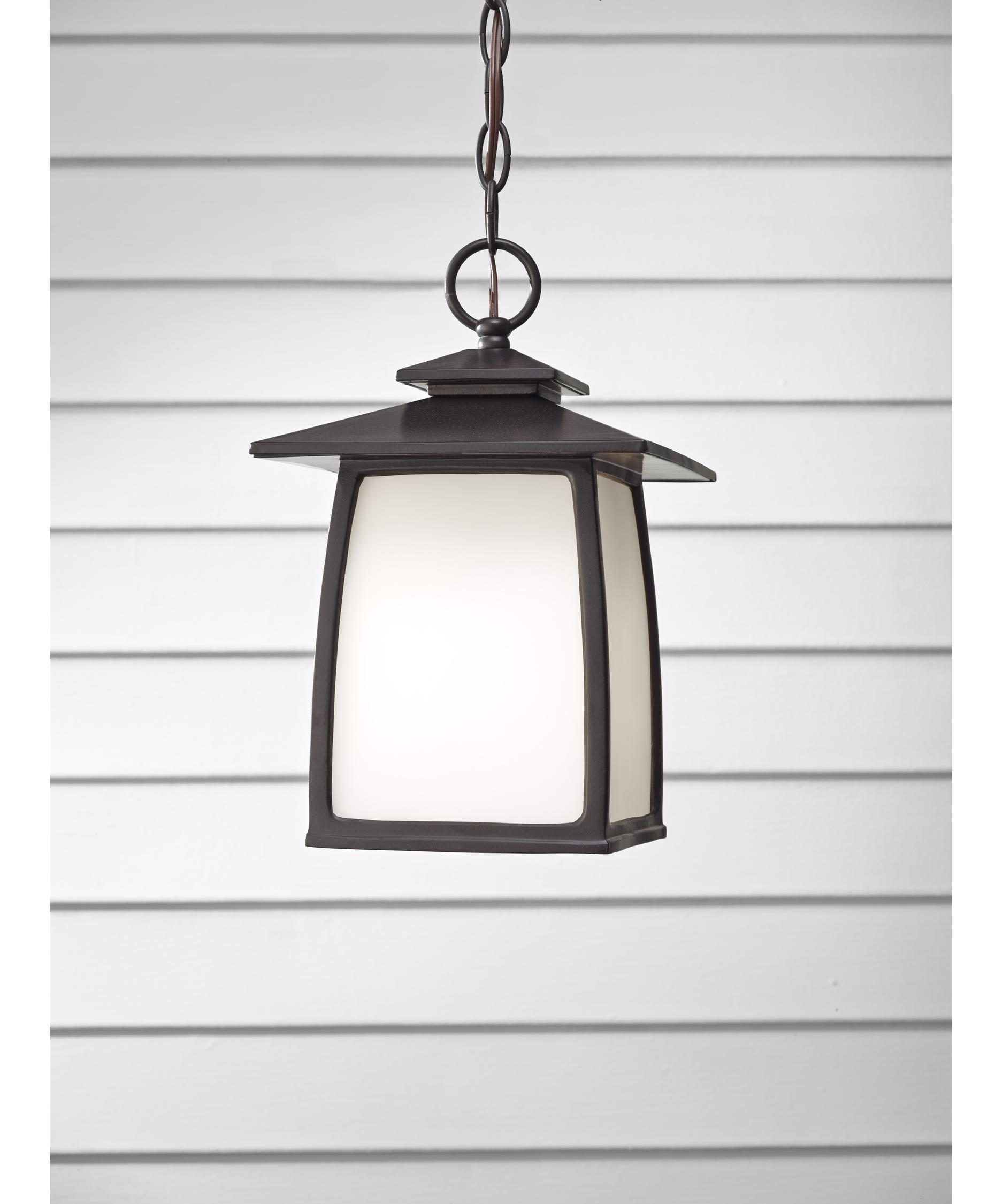 murray feiss ol8511 wright house 8 inch wide 1 light outdoor hanging lantern capitol lighting - Feiss Lighting