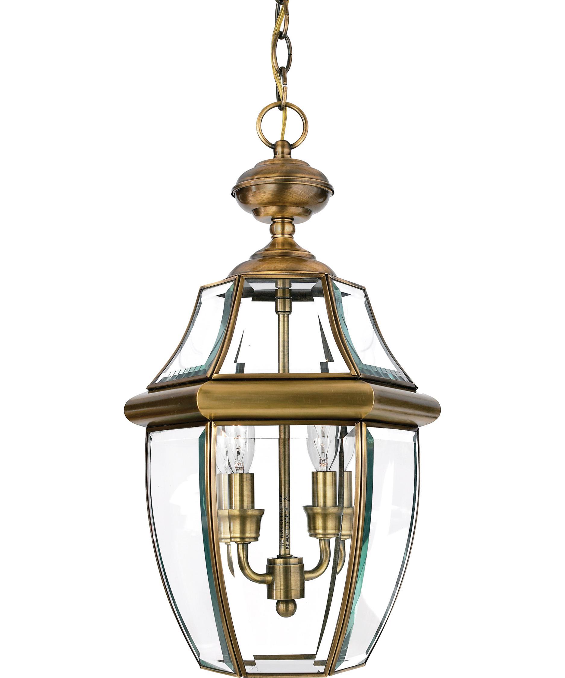 quoizel ny1178 newbury 10 inch wide 2 light outdoor hanging lantern capitol lighting