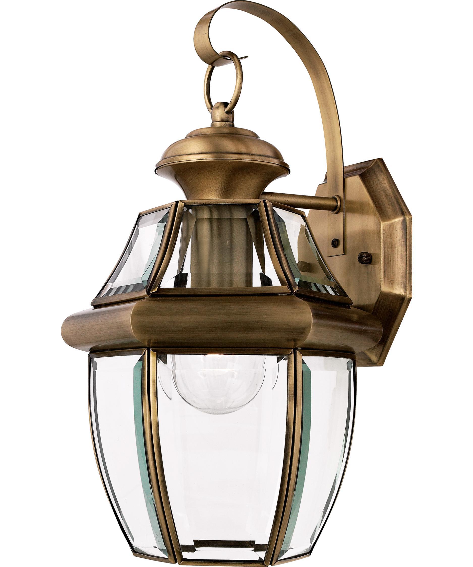 Quoizel NY8316 Newbury 9 Inch Wide 1 Light Outdoor Wall Light