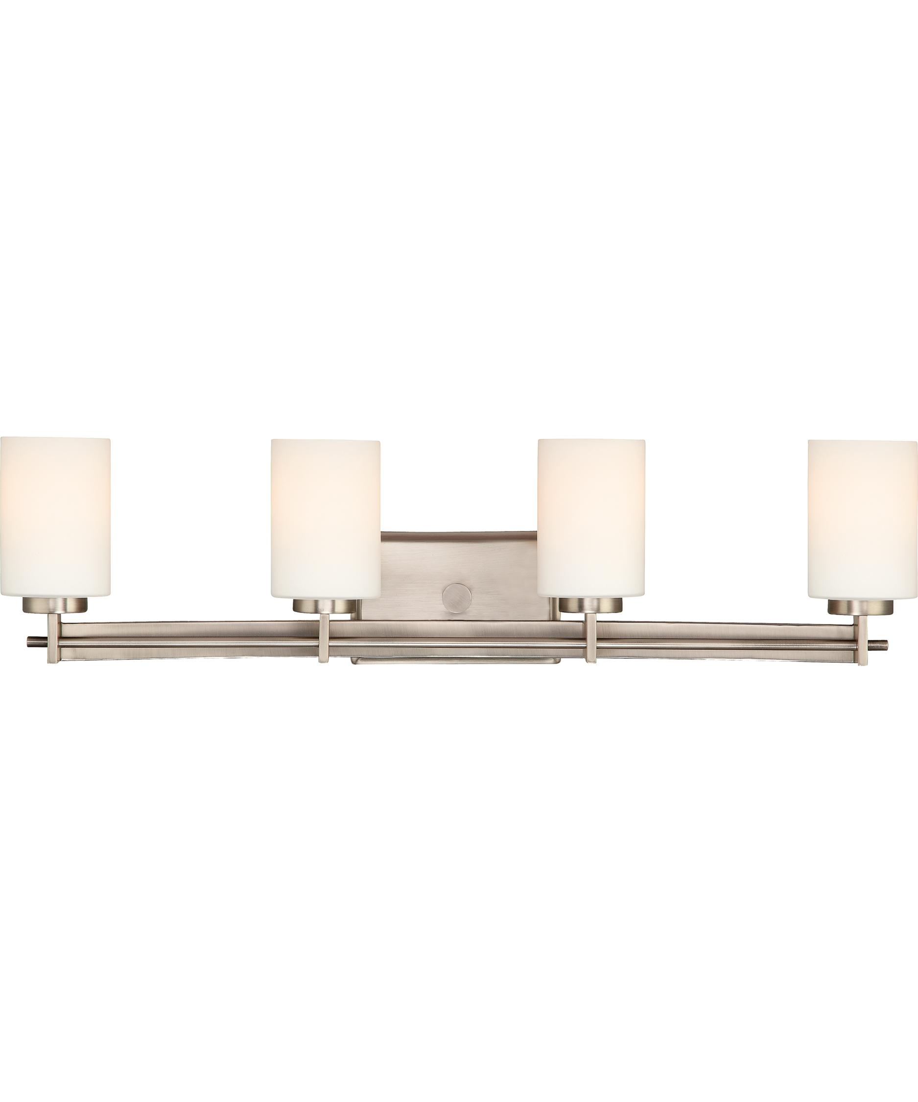 Quoizel Bathroom Light Fixtures quoizel ty8604 taylor 30 inch wide bath vanity light | capitol
