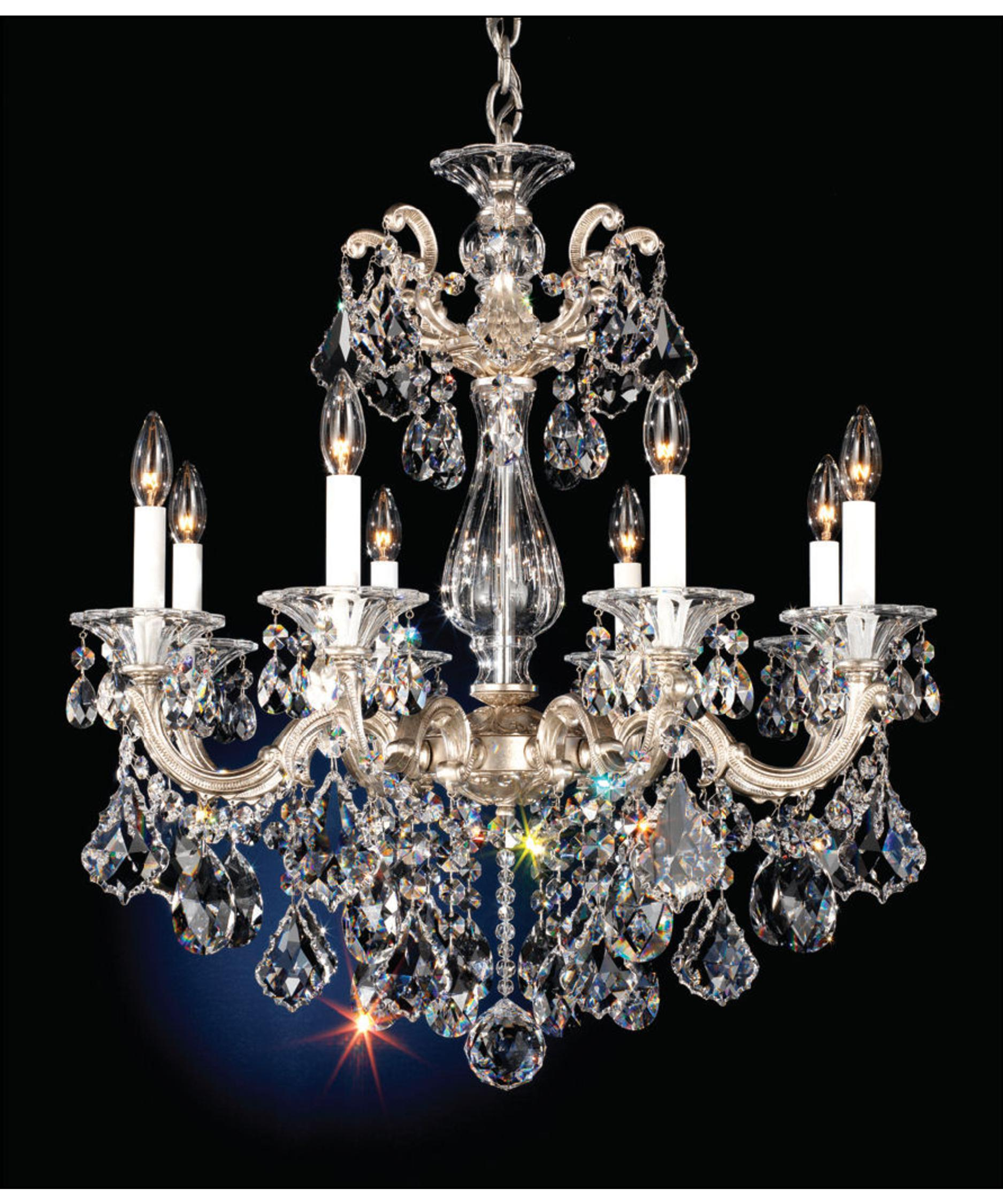 Schonbeck Chandelier Schonbek Century 8 Light Chandelier