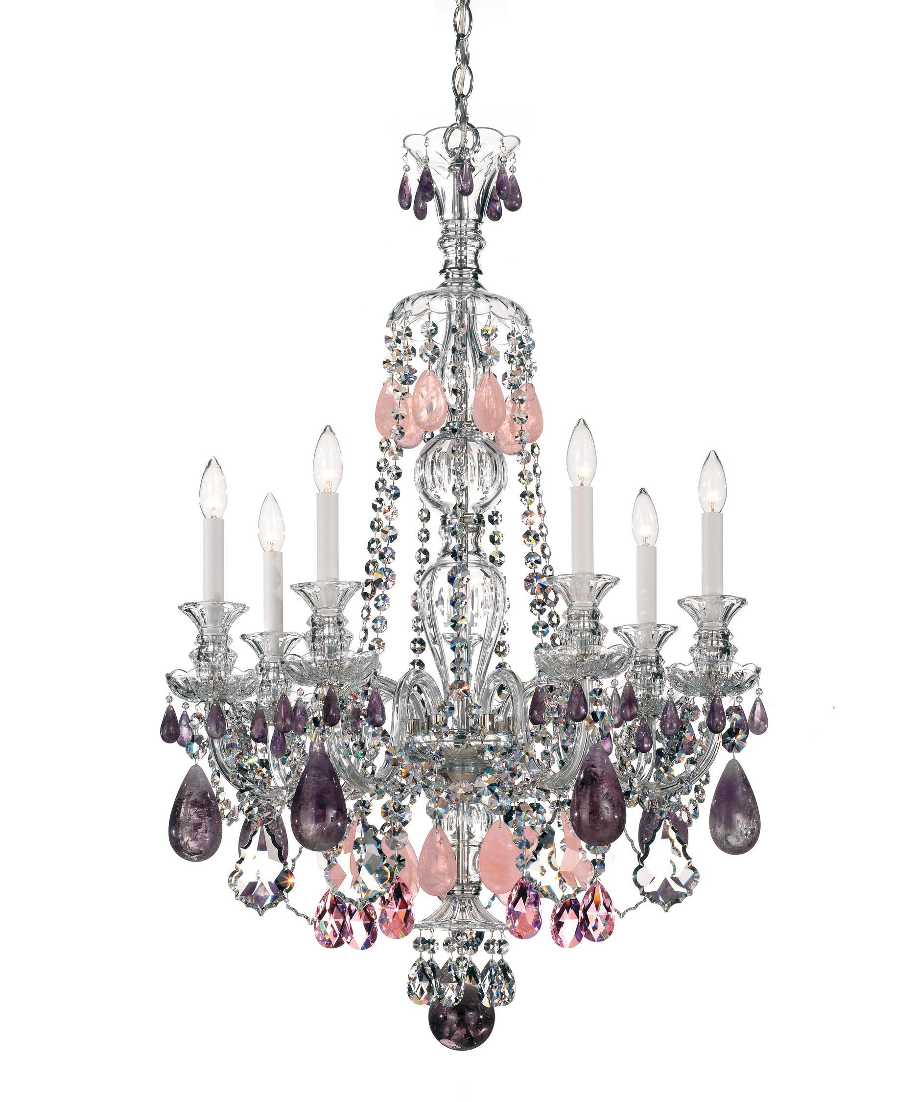 Schonbek Hamilton Rock Crystal 26 Inch Wide 7 Light Chandelier – Rock Crystal Chandelier