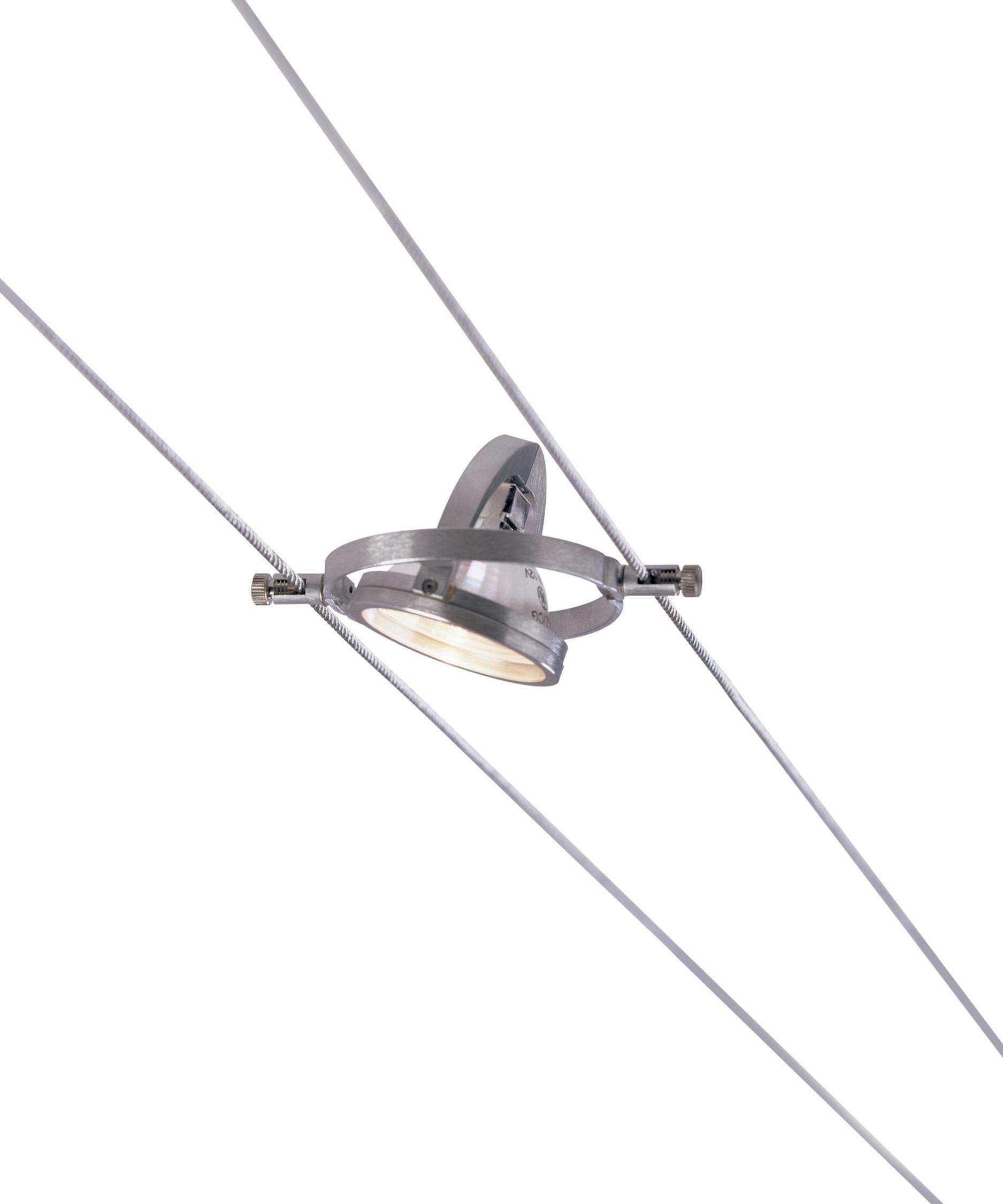 Tech Lighting K-Hello 4 Inch Cable Fixture | Capitol Lighting 1 ...:Shown in Satin Aluminum finish,Lighting