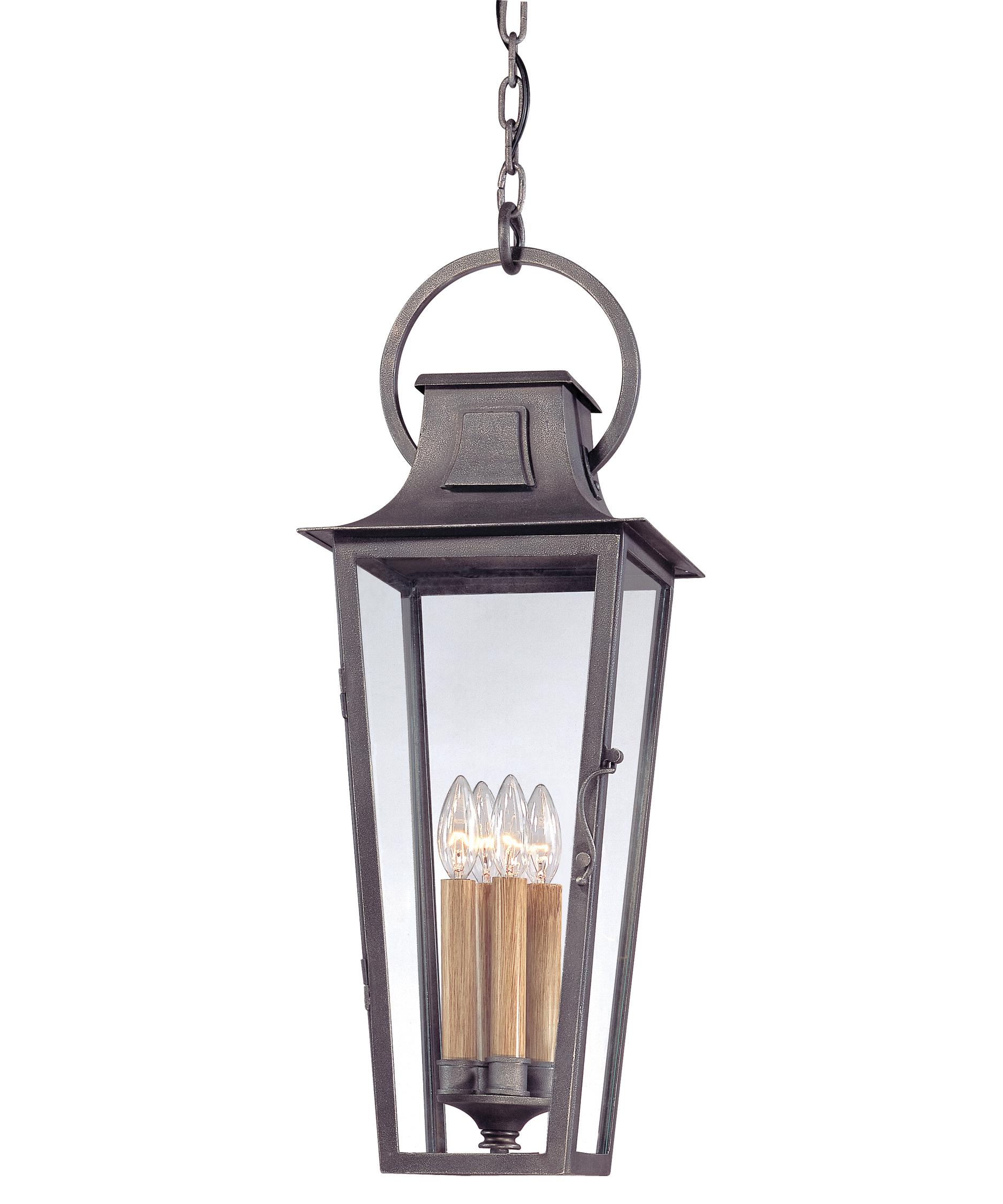 french outdoor lighting. shown in aged pewter finish and clear seedy glass french outdoor lighting h