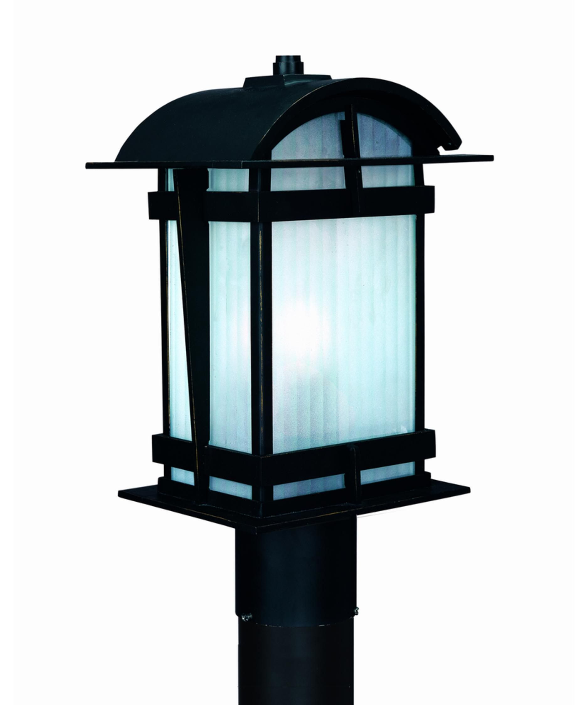 Troy Lighting P1564 Glasgow 1 Light Outdoor Post Lamp