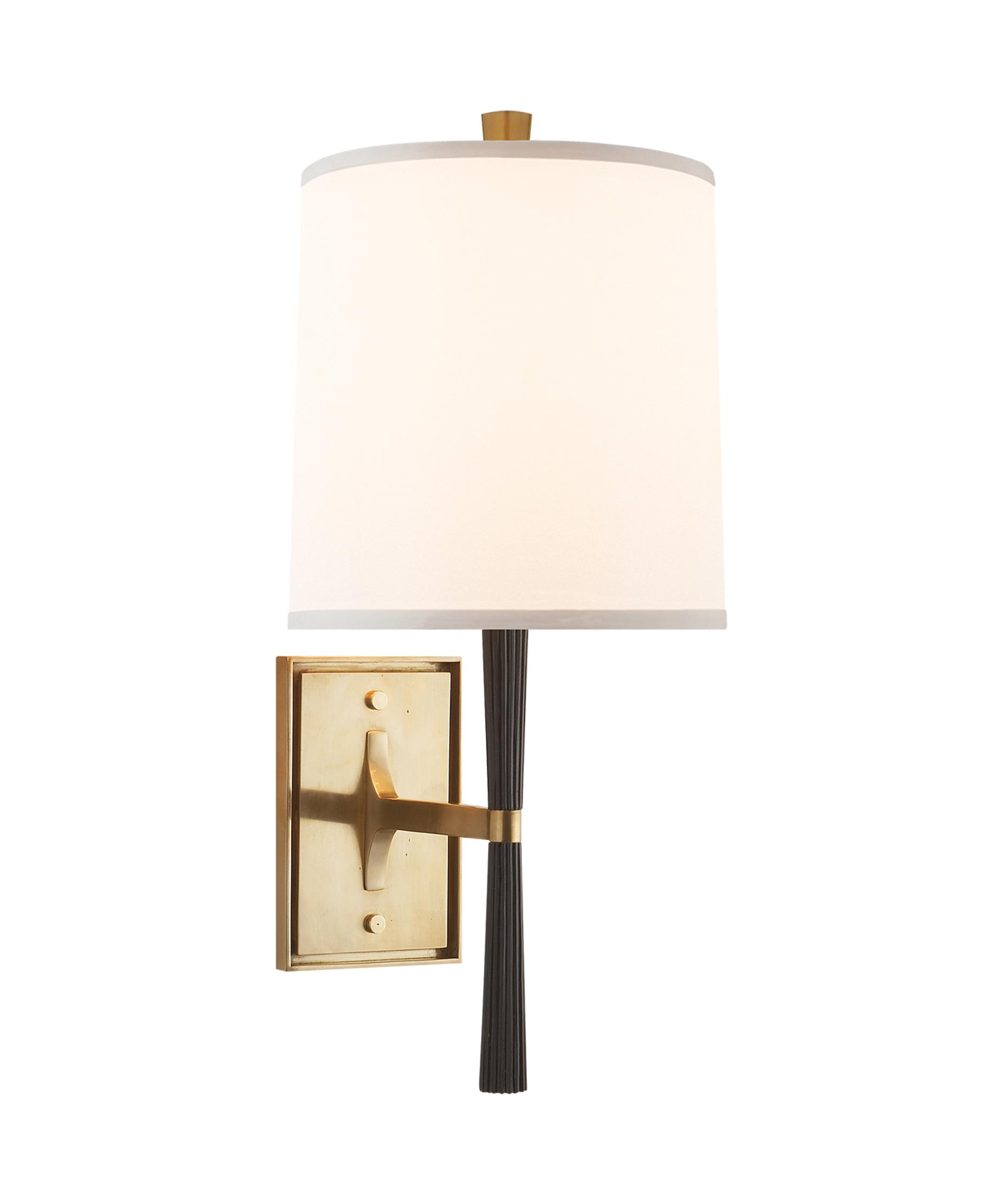 Barbara Barry Cabinet Visual Comfort Barbara Barry Refined Rib 8 Inch Wide Wall Sconce