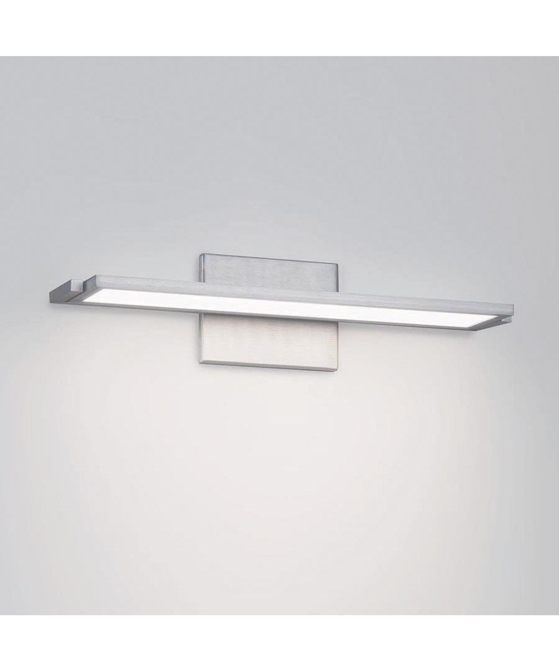 Awesome WAC Lighting WS44512 DwelLED Kube 2Light Vanity Fixture