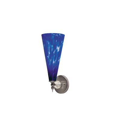 Shown with Blue Violet glass with Clear Ball