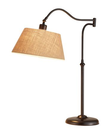 Shown in Antique Bronze finish and Khaki shade