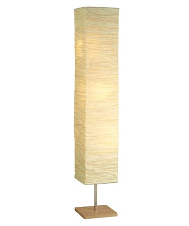 Shown in Natural finish and Natural Crinkle Paper shade