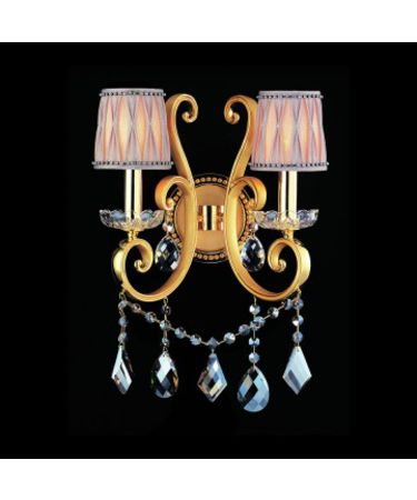 Shown in Two-Tone Gold-24K finish and Firenze Mixed crystal