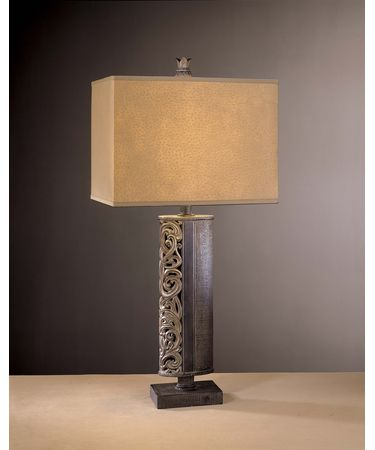 Shown in Dark Burlap with Warm Silver finish