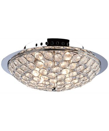 Shown in Chrome finish and Sparkling Jewels accent