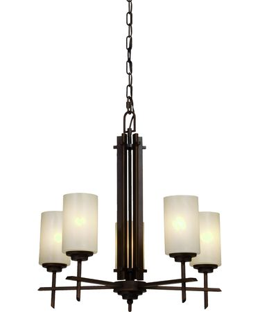 Shown in Oil Rubbed Bronze finish and Cream glass