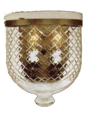 Shown in Bronze finish and Diamond Cut glass