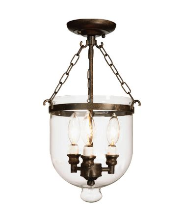 Shown in Bronze finish, Blown Glassware glass and White Fabric shade