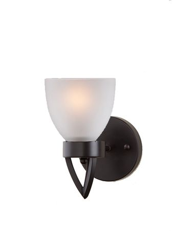 Shown in Oil Rubbed Bronze finish, White Acid glass and Silver Grey Silk String shade