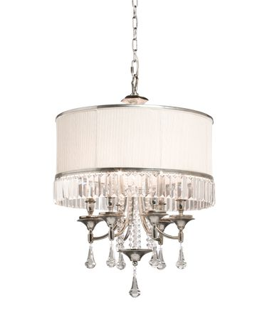 Shown in Distressed Pewter finish and Cut Crystal crystal