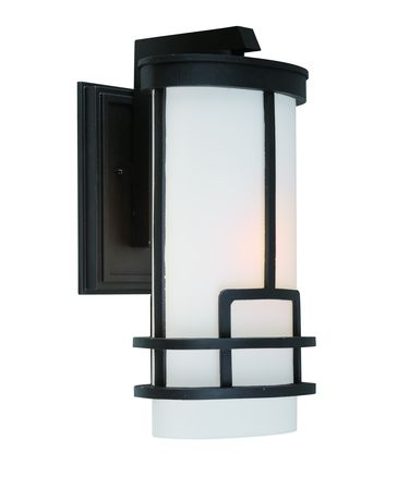 Shown in Black finish, White glass and Oatmeal Linen shade