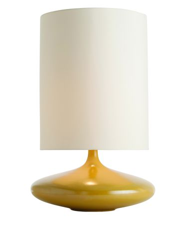 Shown with , Yellow glass and Ivory shade